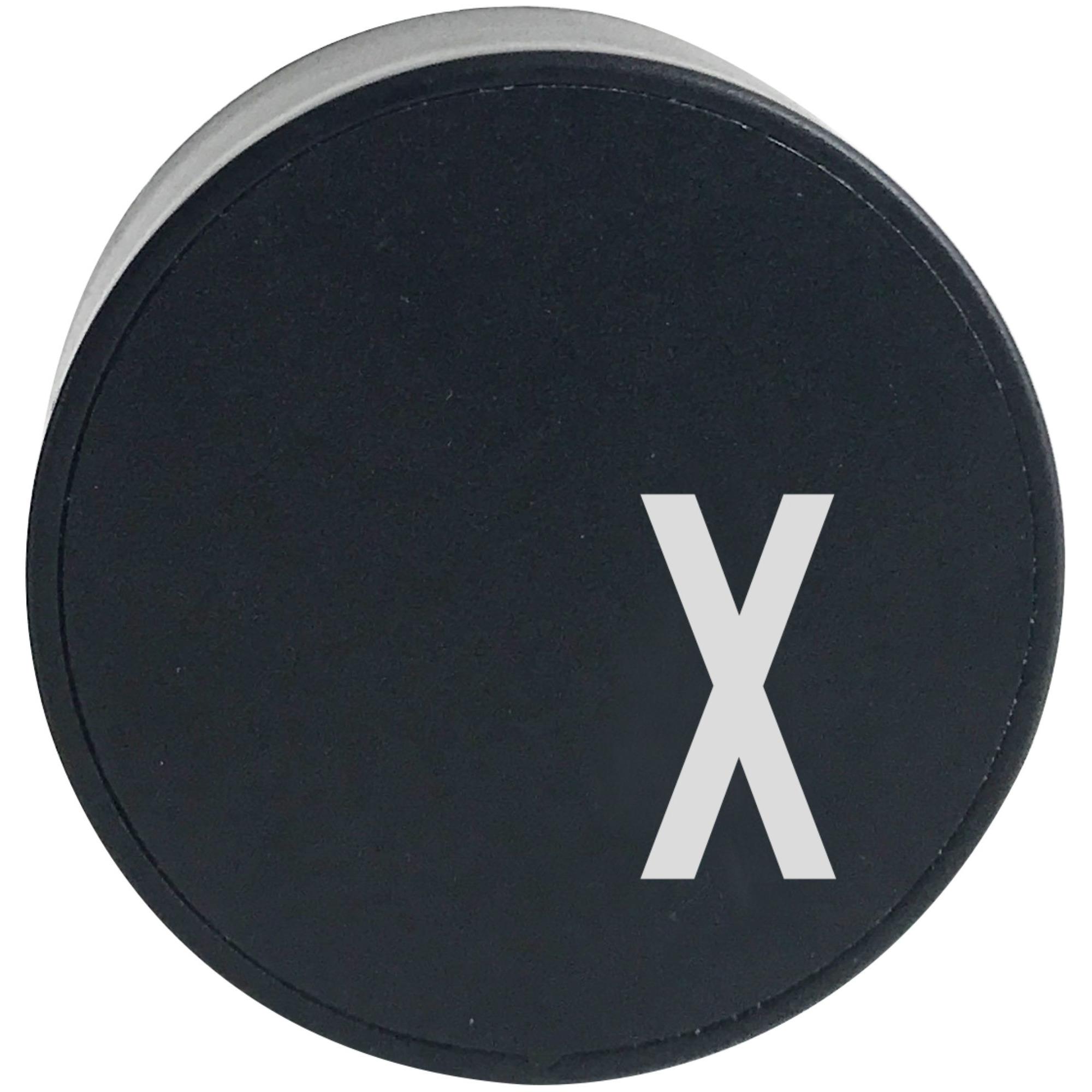 Design Letters Laddare Svart X