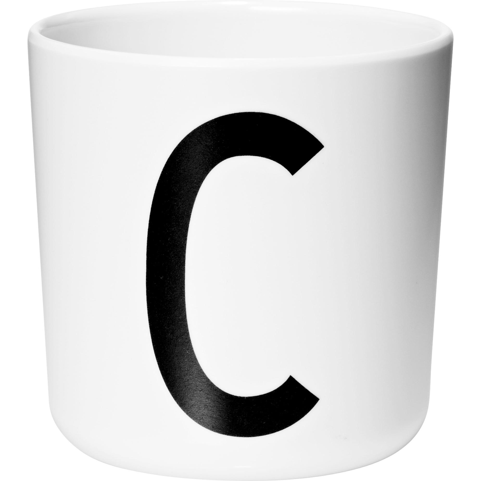 Design Letters Melaminmugg Vit C