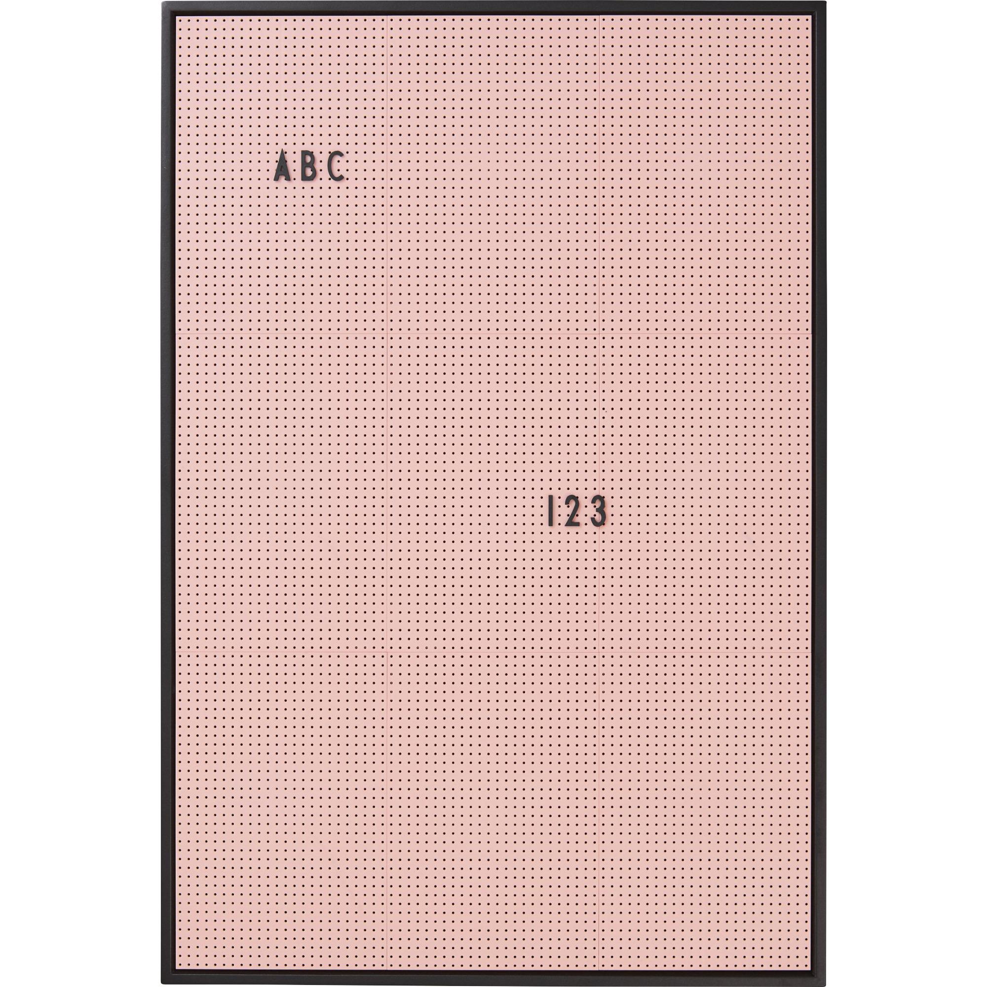 Design Letters Message Board A2 Rosa
