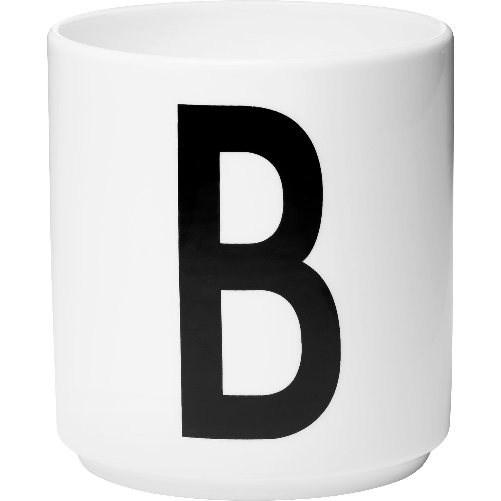 Design Letters Porslinsmugg Vit B