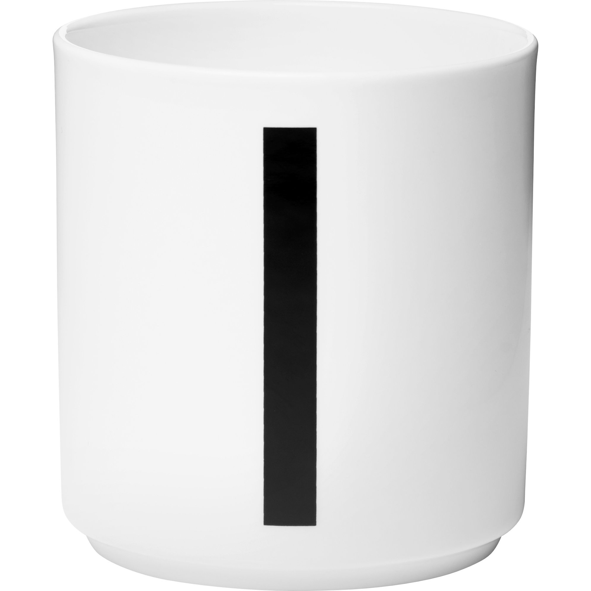 Design Letters Porslinsmugg Vit I