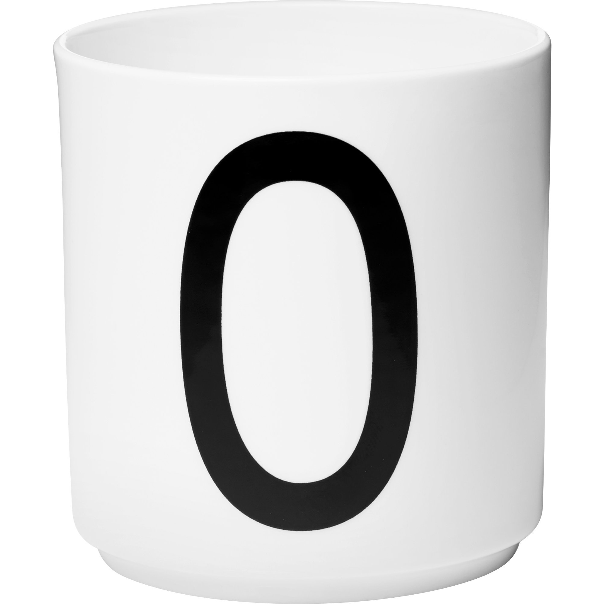 Design Letters Porslinsmugg Vit, O