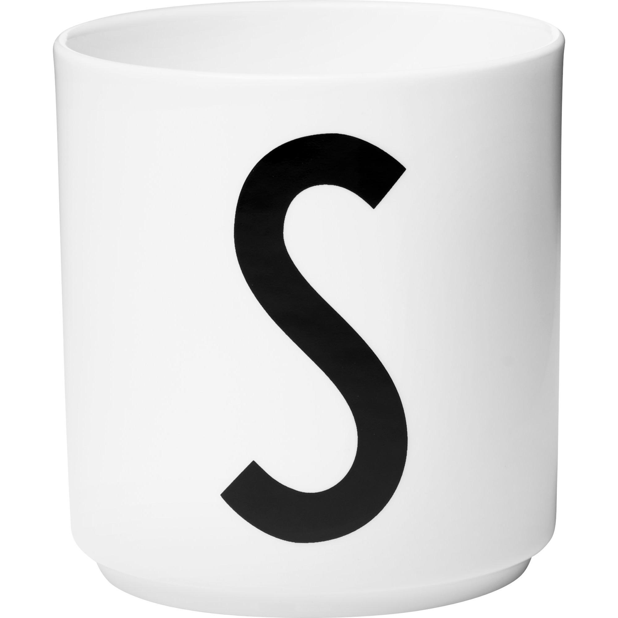 Design Letters Porslinsmugg Vit S