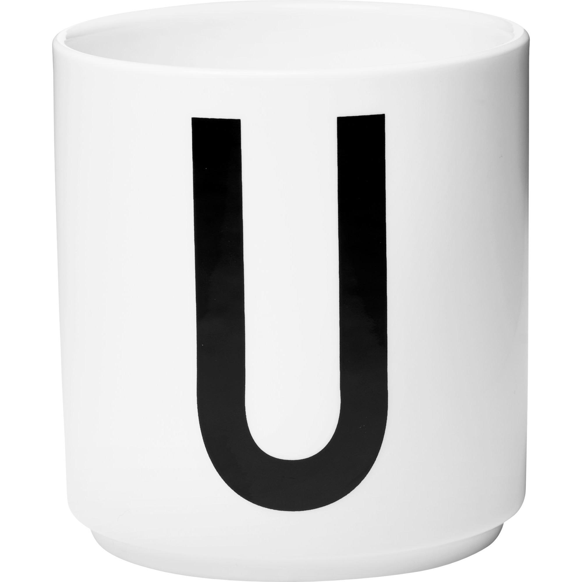 Design Letters Porslinsmugg Vit U