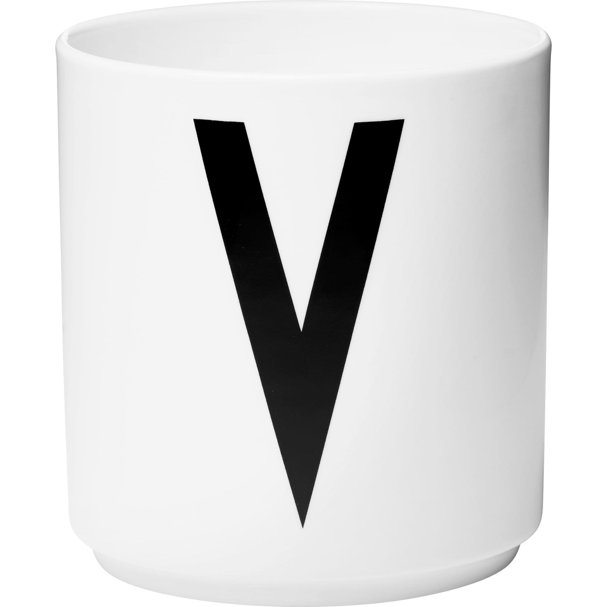 Design Letters Porslinsmugg Vit V