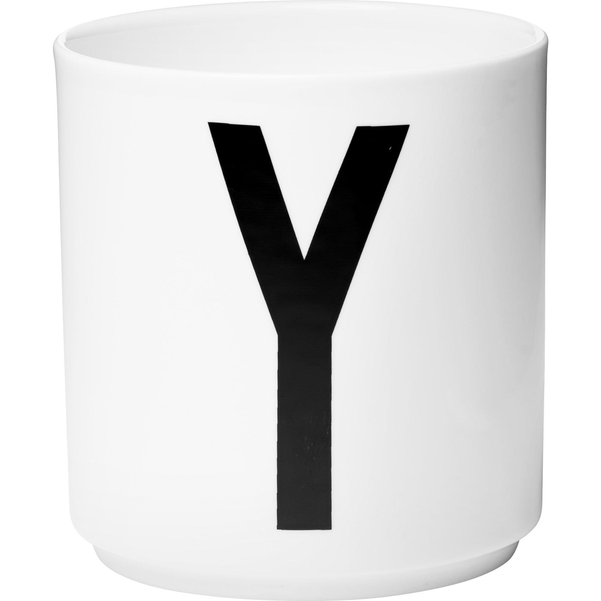Design Letters Porslinsmugg Vit Y