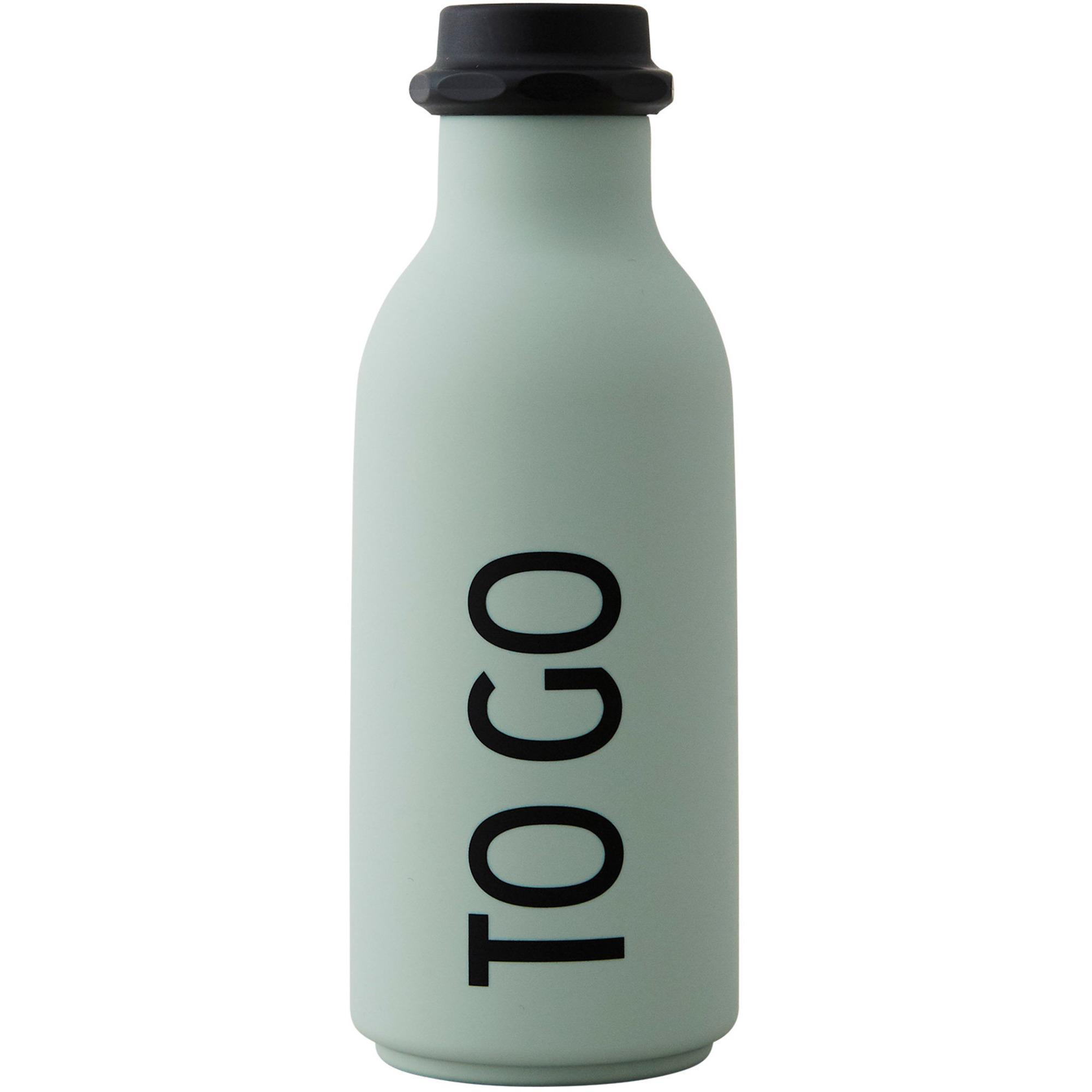 Design Letters TO GO vattenflaska 500 ml. Ljusgrön