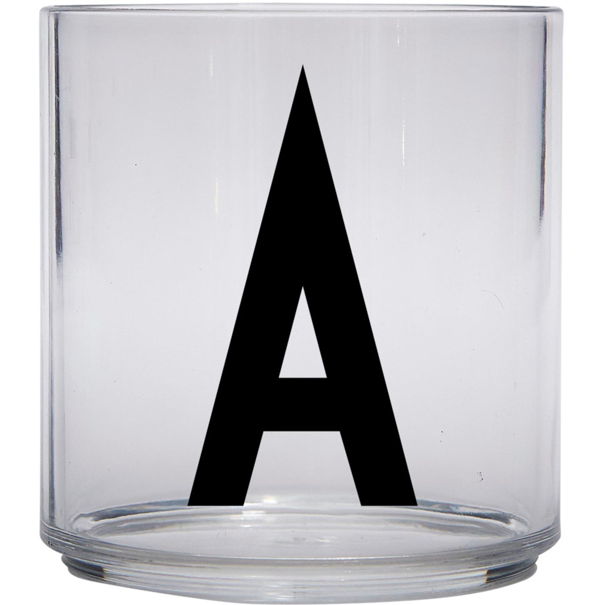 Design Letters Tritan Plastglas barn A