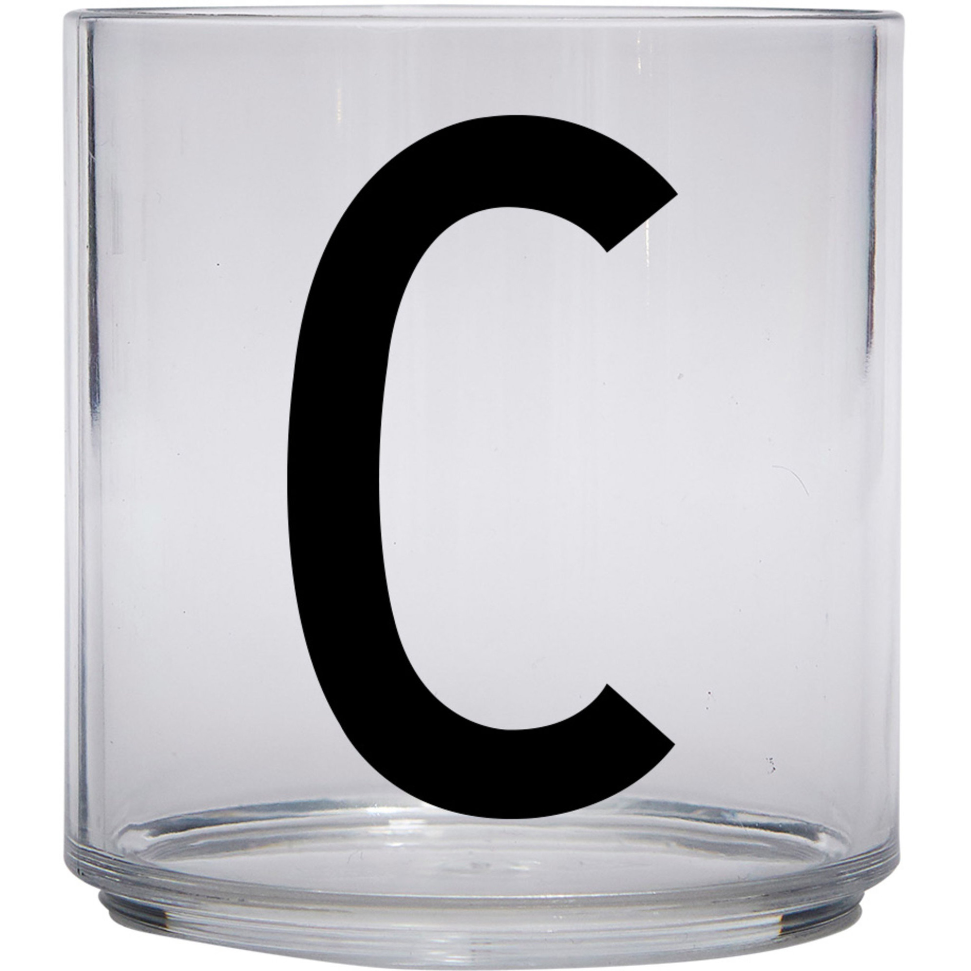 Design Letters Tritan Plastglas barn C