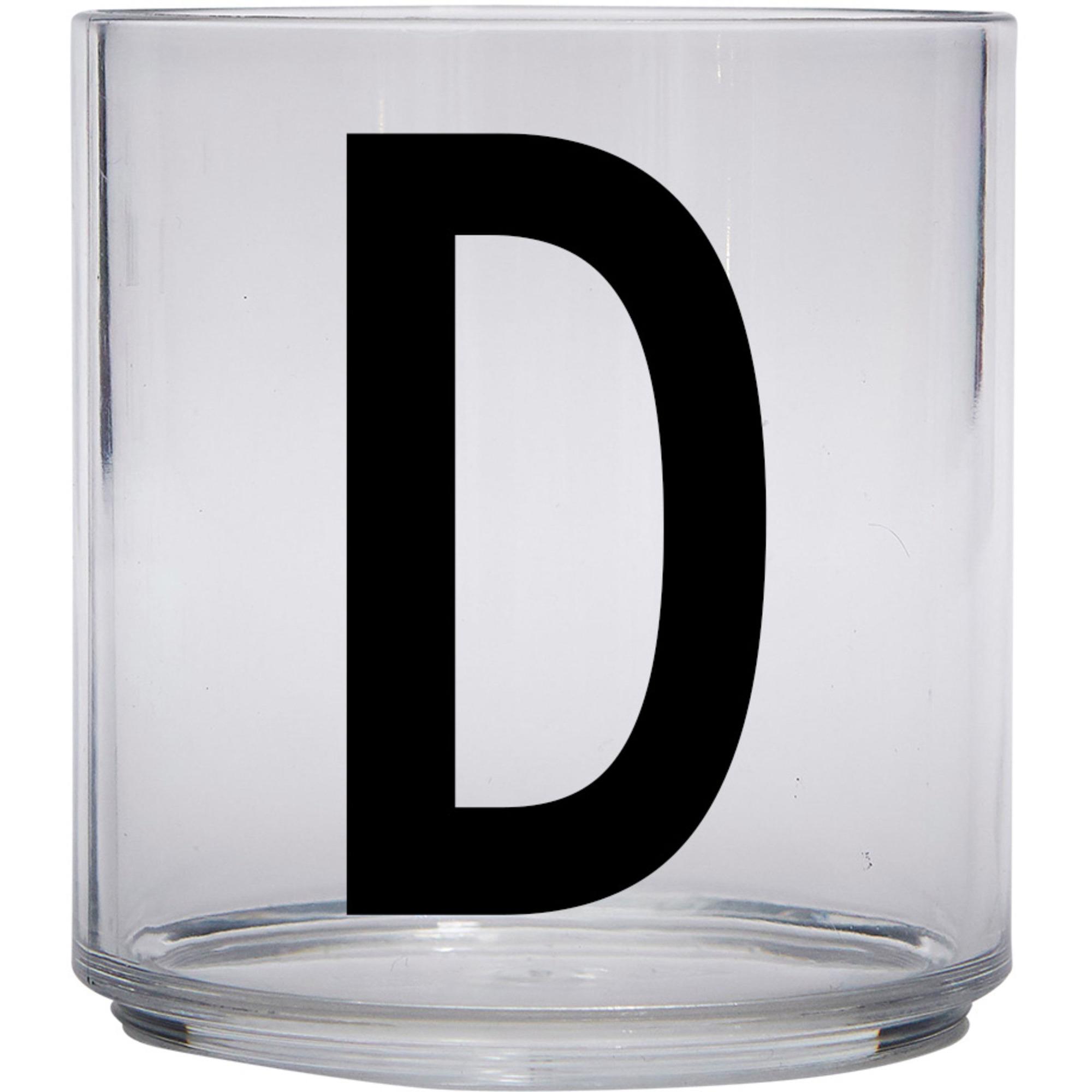 Design Letters Tritan Plastglas barn D