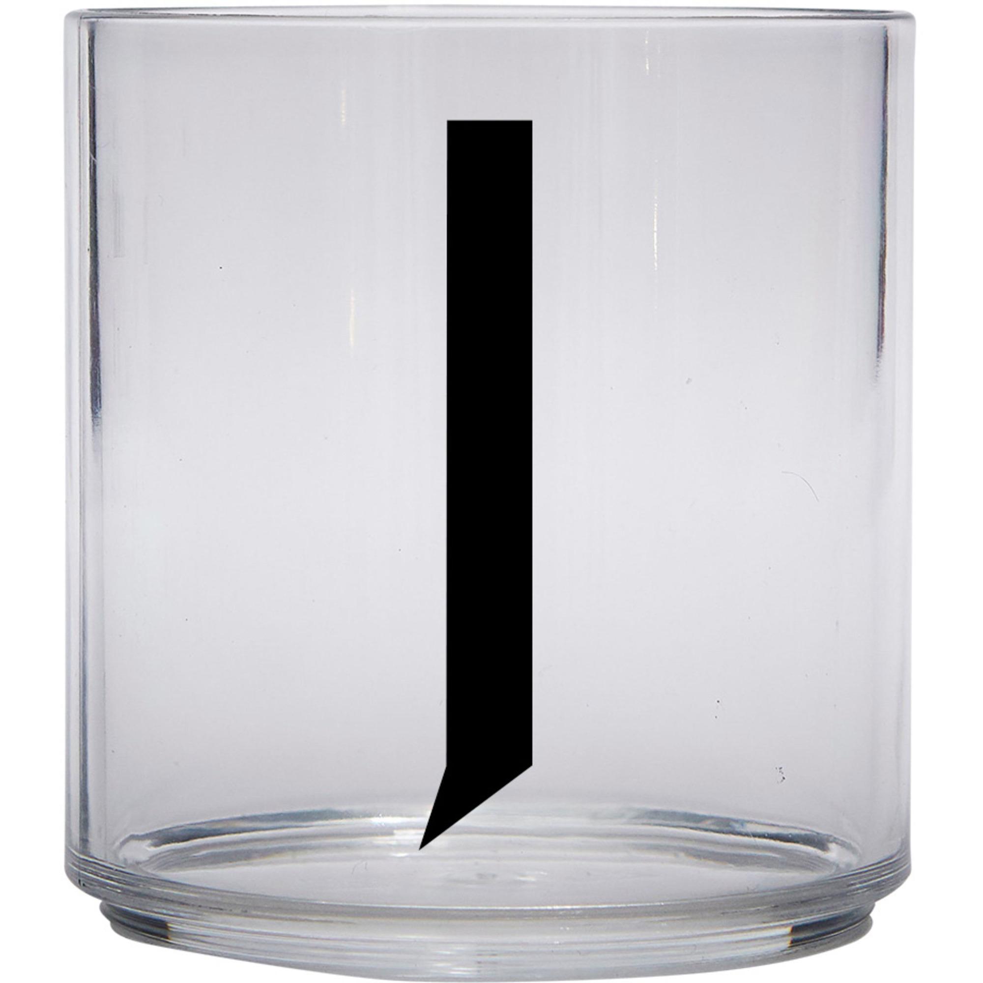 Design Letters Tritan Plastglas barn J