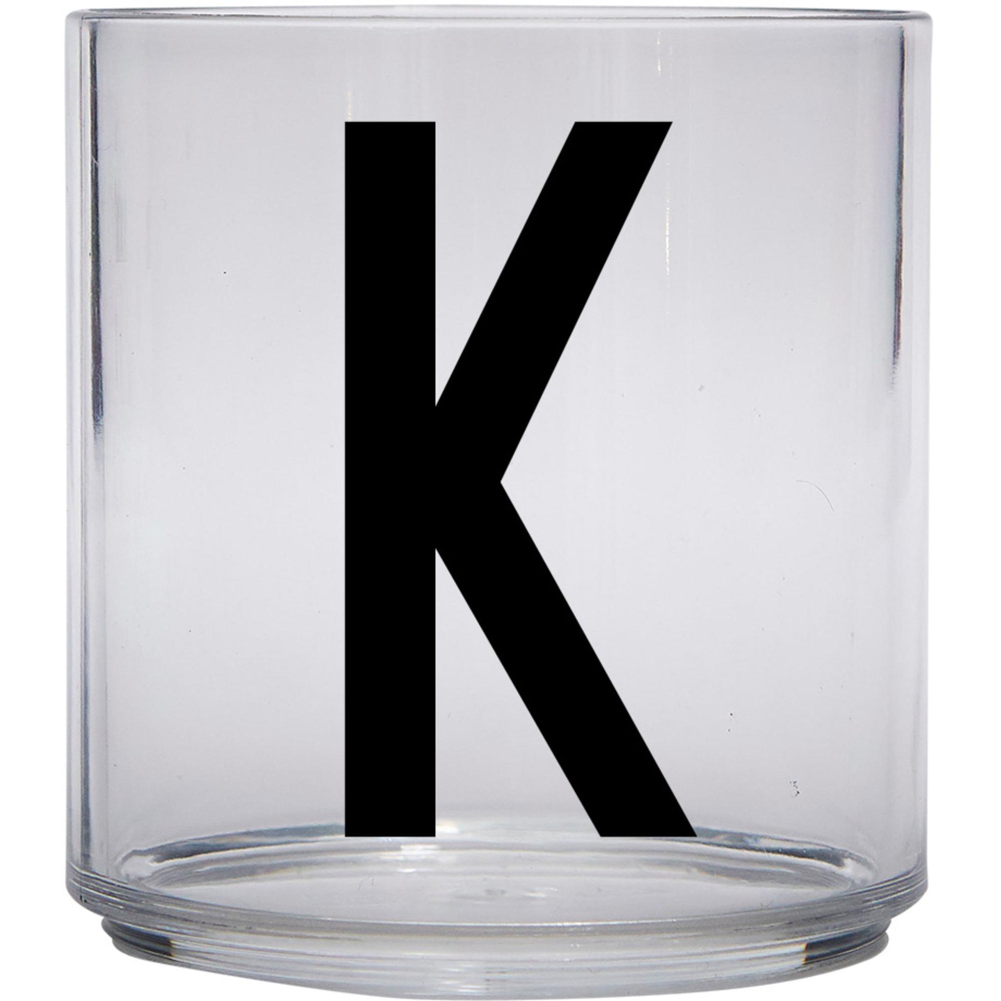 Design Letters Tritan Plastglas barn K