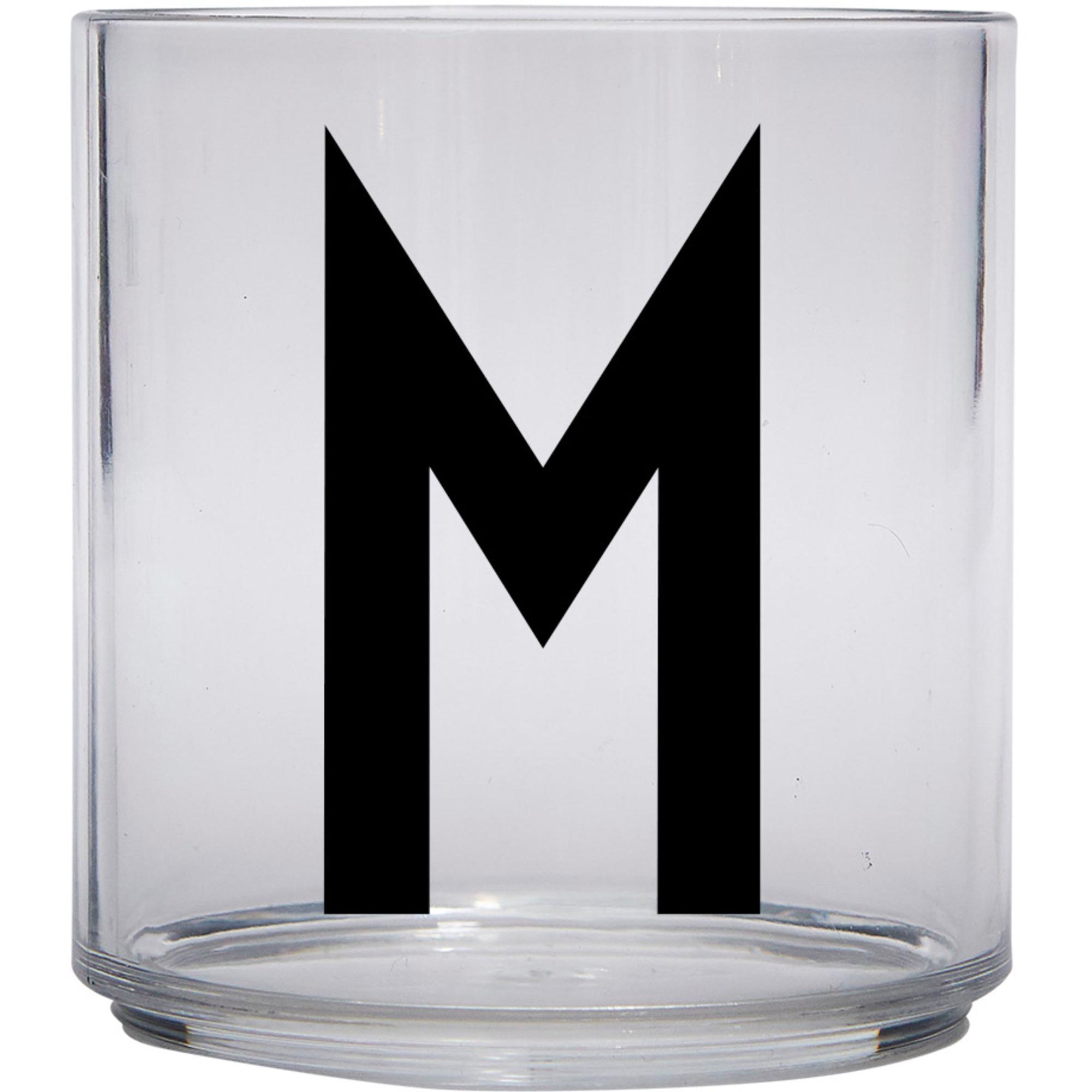 Design Letters Tritan Plastglas barn M