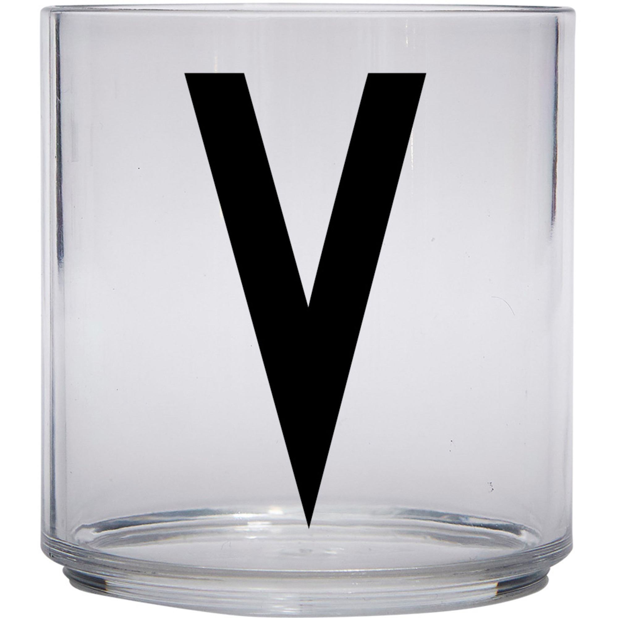 Design Letters Tritan Plastglas barn V