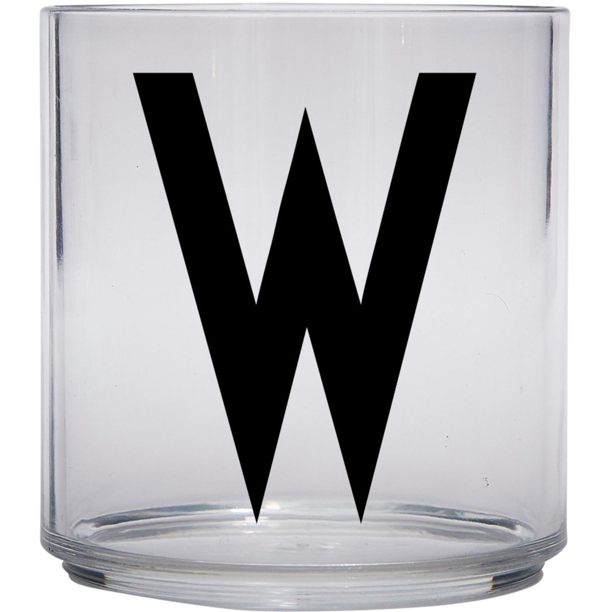 Design Letters Tritan Plastglas barn W