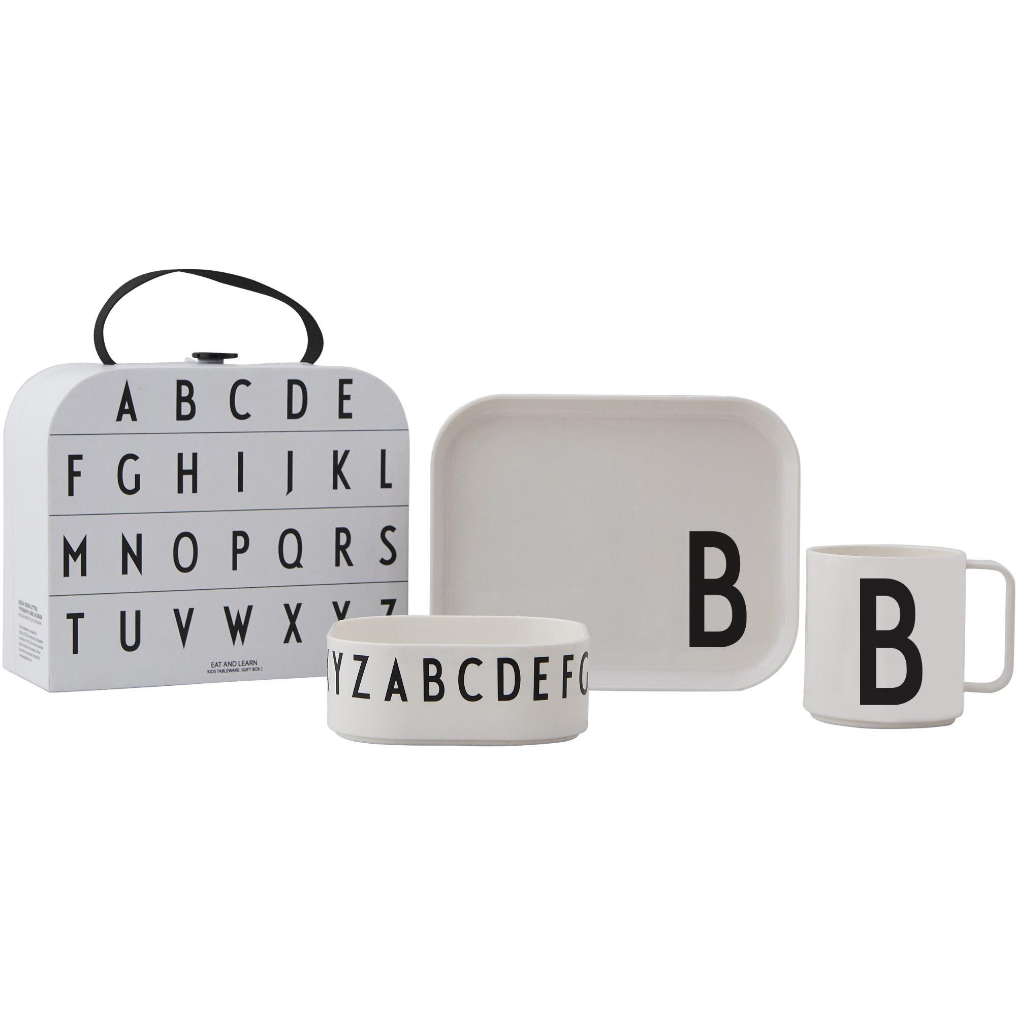 Design Letters Tritan Servis 4-del B