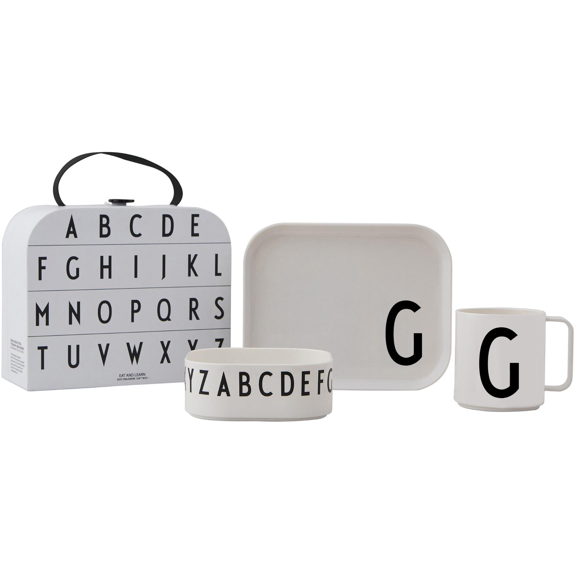 Design Letters Tritan Servis 4-del G
