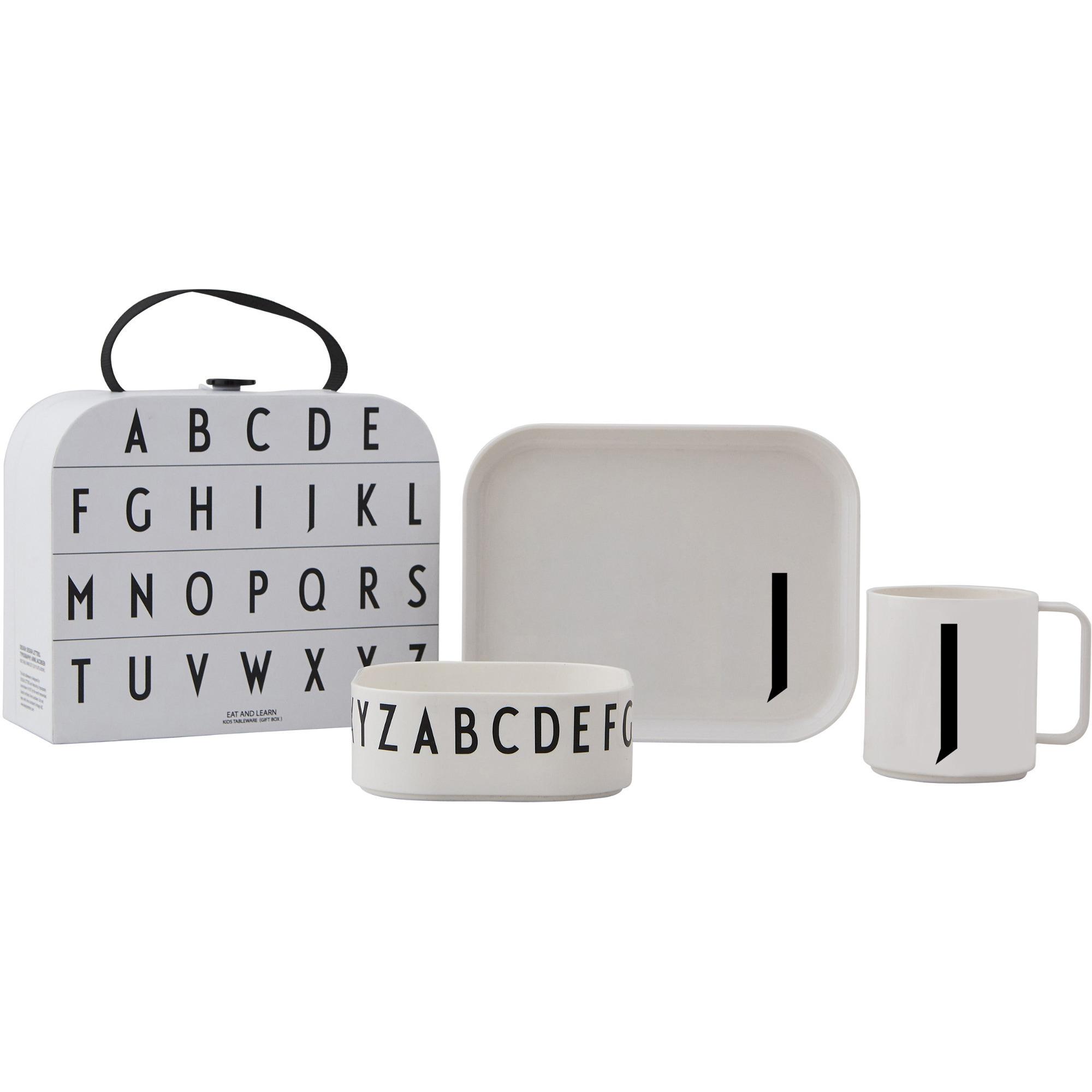 Design Letters Tritan Servis 4-del J