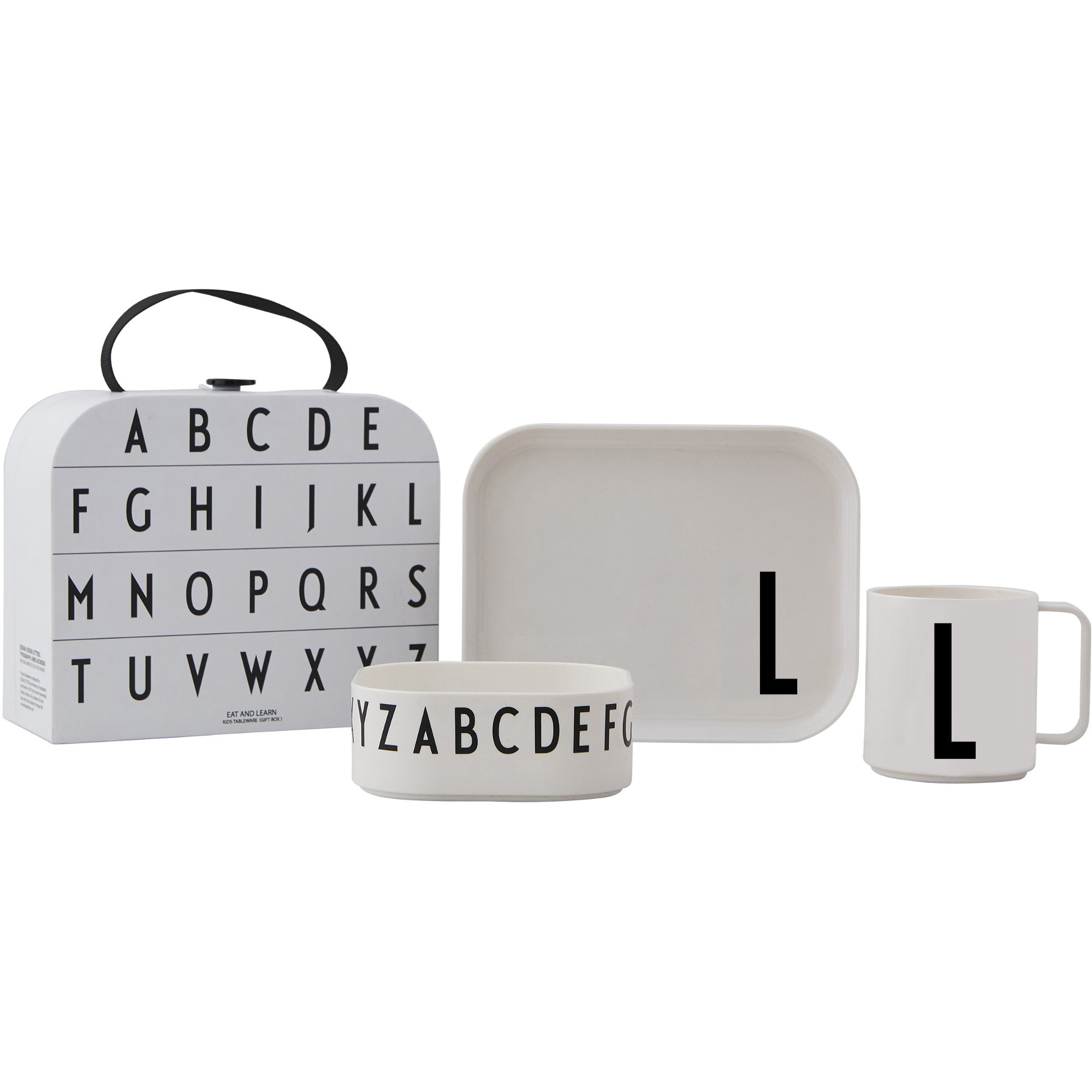 Design Letters Tritan Servis 4-del L