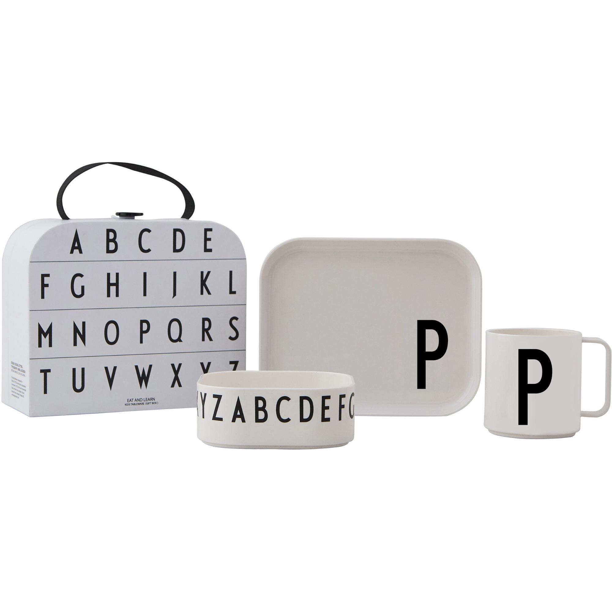 Design Letters Tritan Servis 4-del P