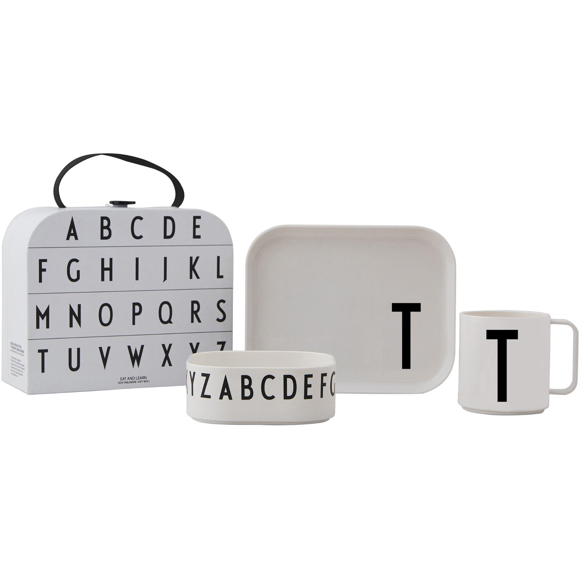 Design Letters Tritan Servis 4-del T