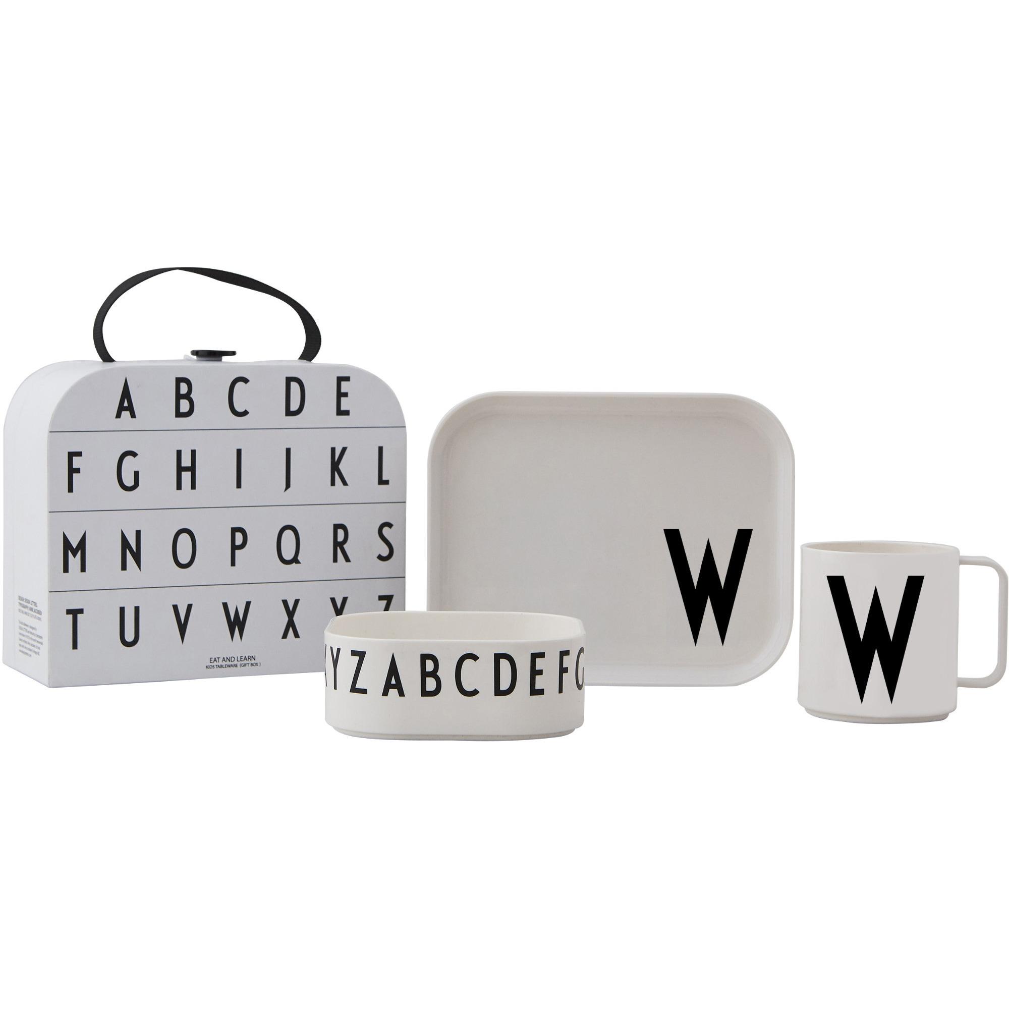 Design Letters Tritan Servis 4-del W