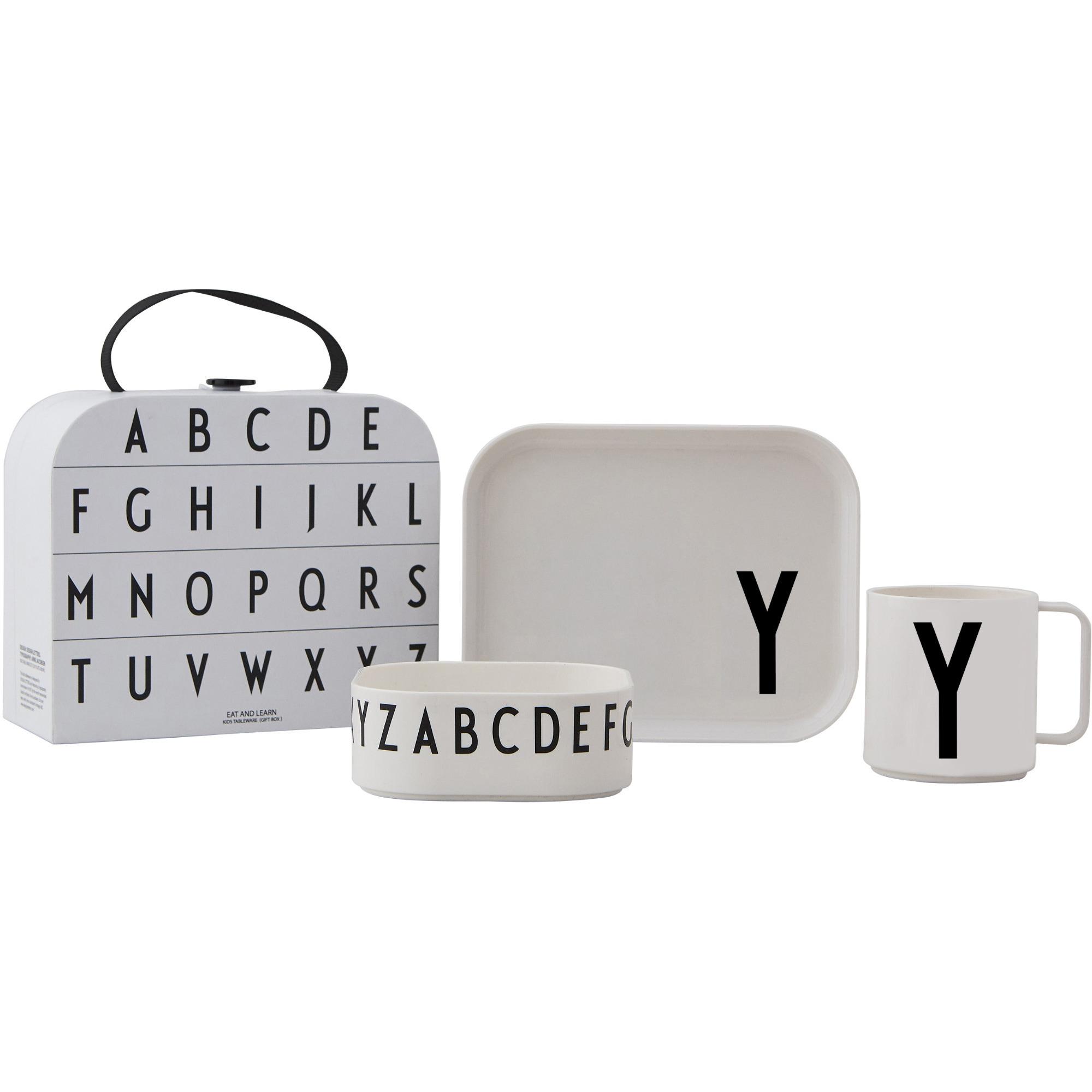 Design Letters Tritan Servis 4-del Y