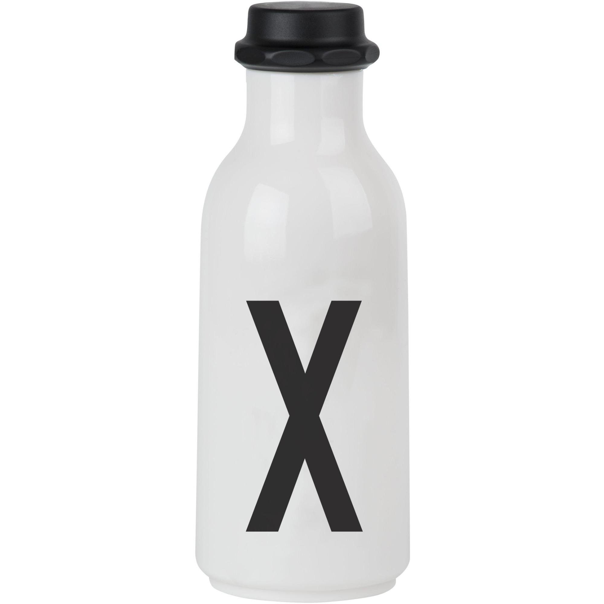 Design Letters Vattenflaska X