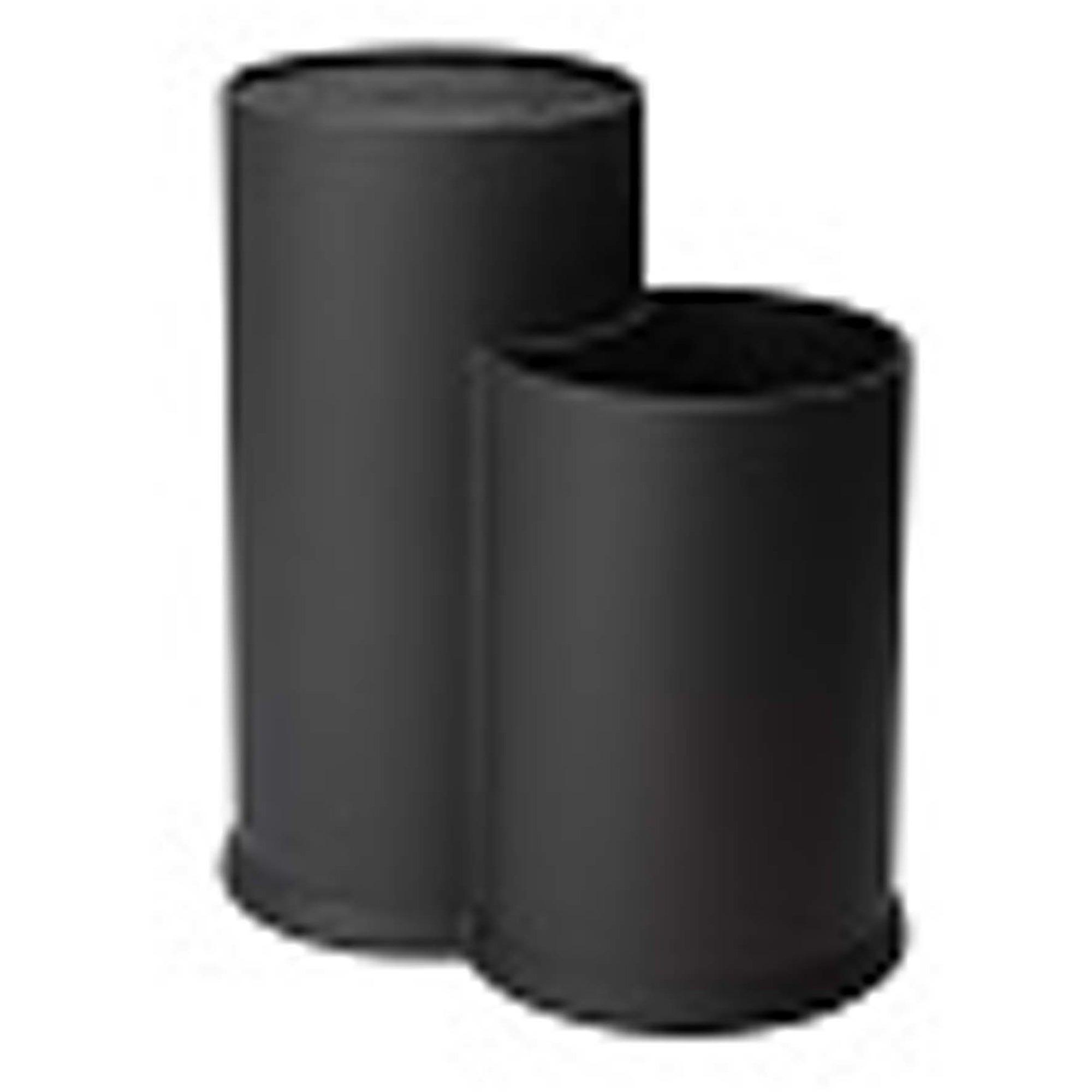 Dorre Vida Knivblock borst och redskapsställ svart höjd 22,5 cm