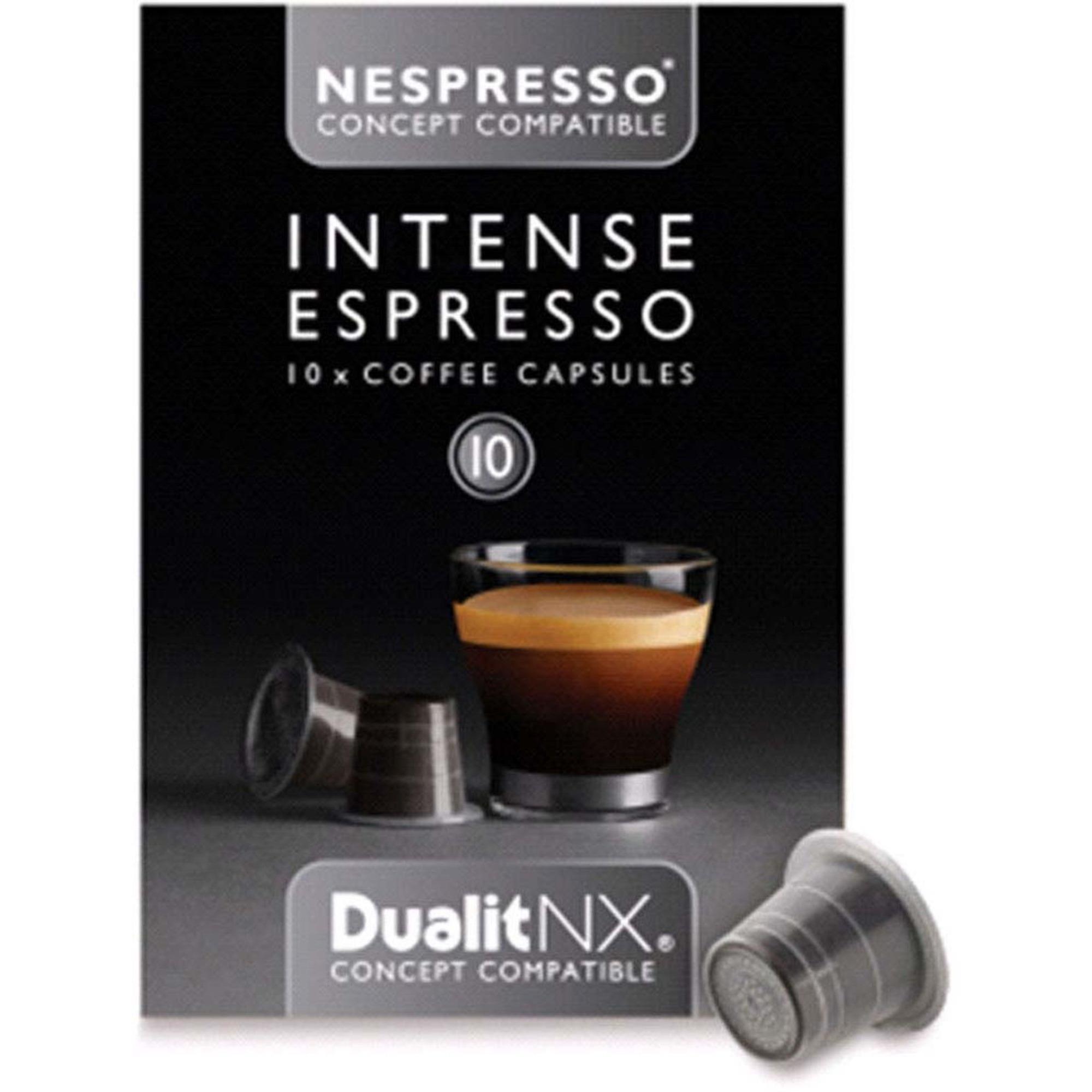Dualit Kaffekapsel n/x Intenso 10-pack