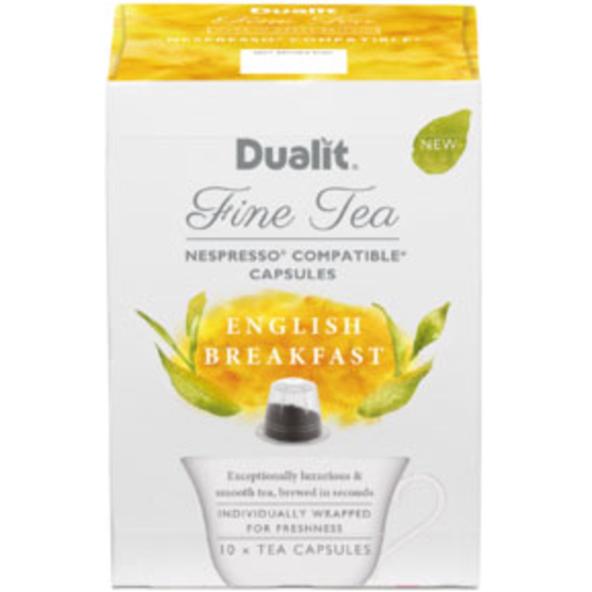 Dualit Tekapsel Svart Te English Breakfast 10 st