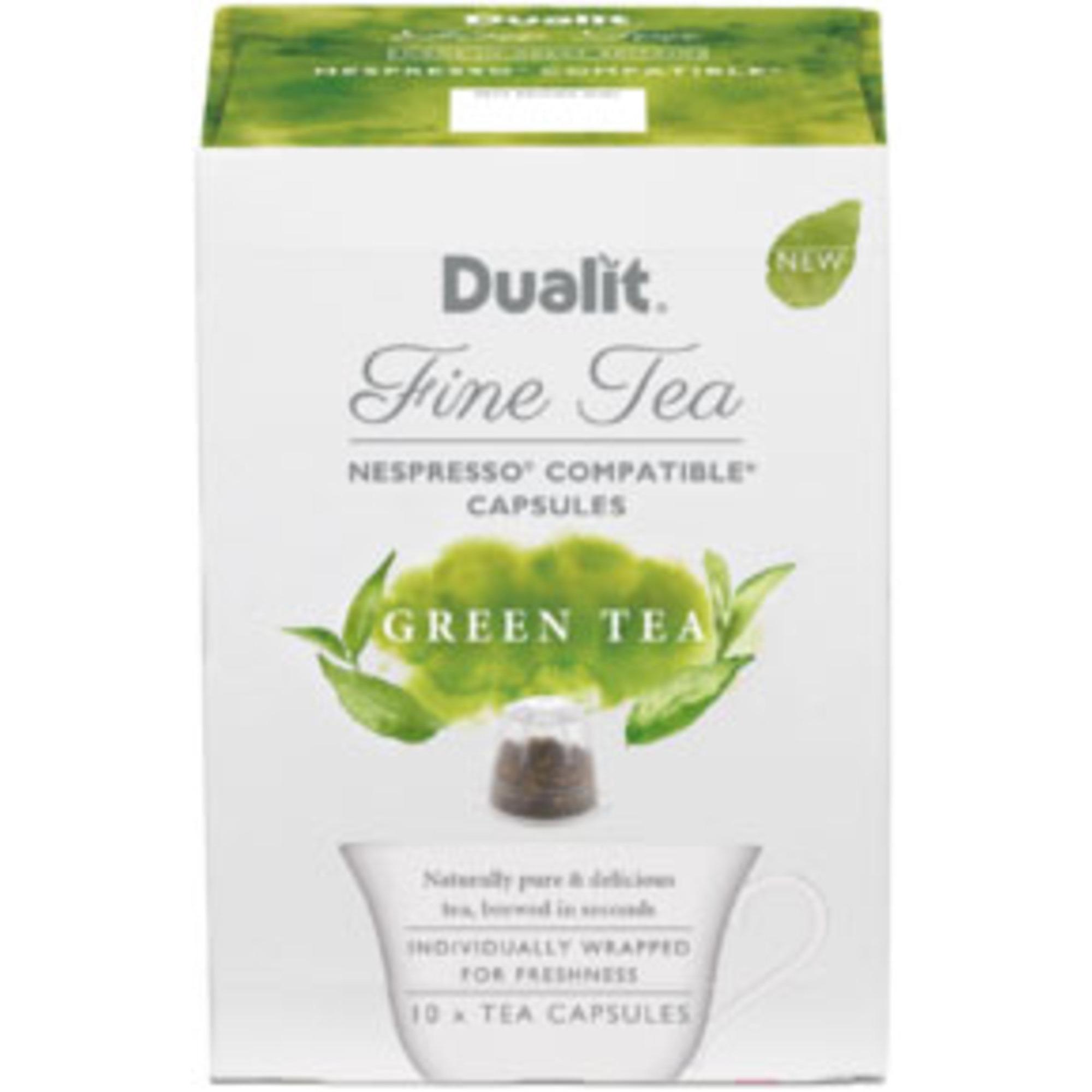 Dualit Tekapsel Grönt Te Green Tea 10 st