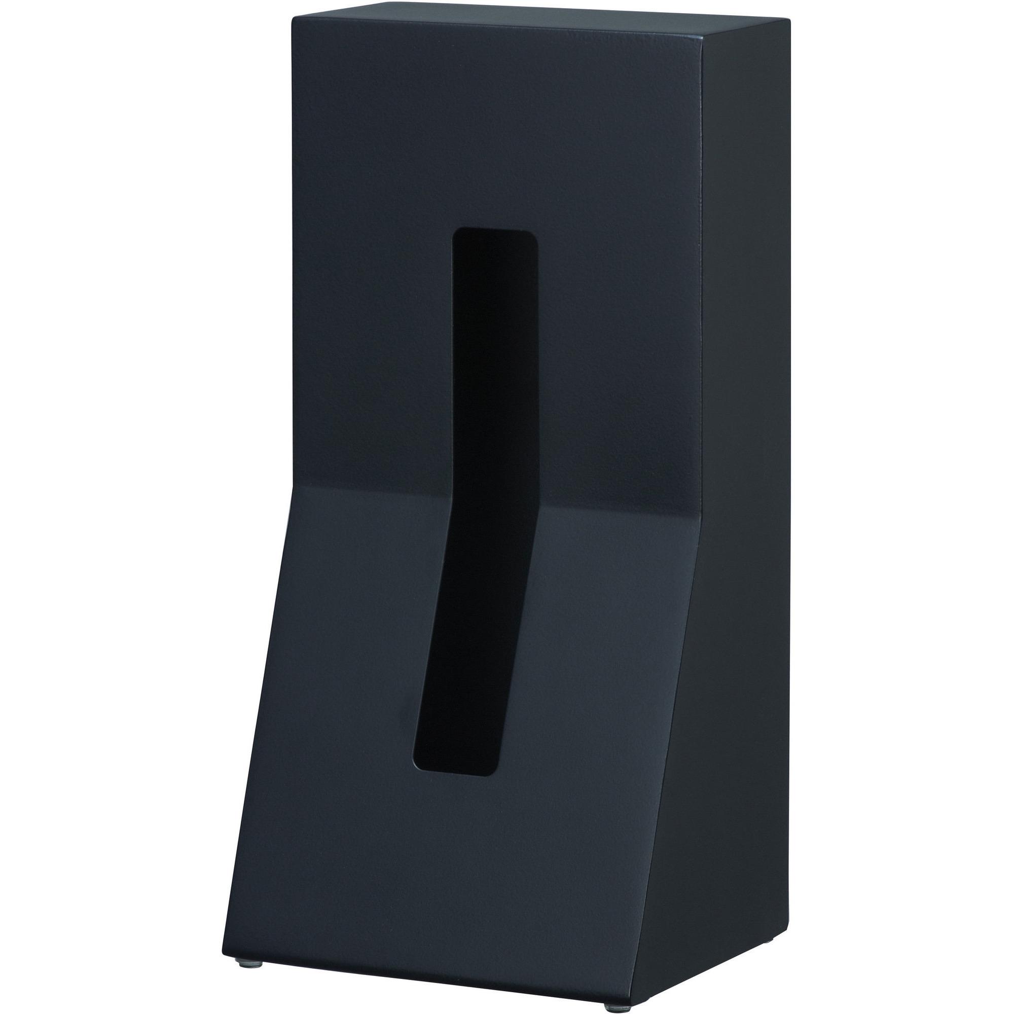 Duende Stand stål servetthållare svart