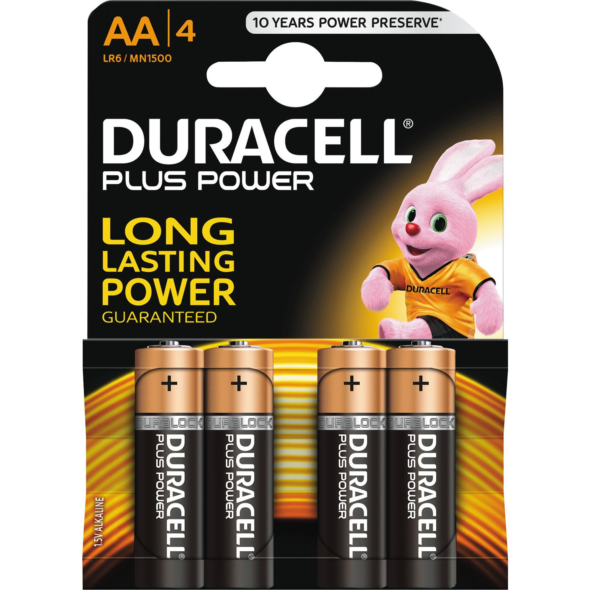 Duracell Plus Power AA Batteri