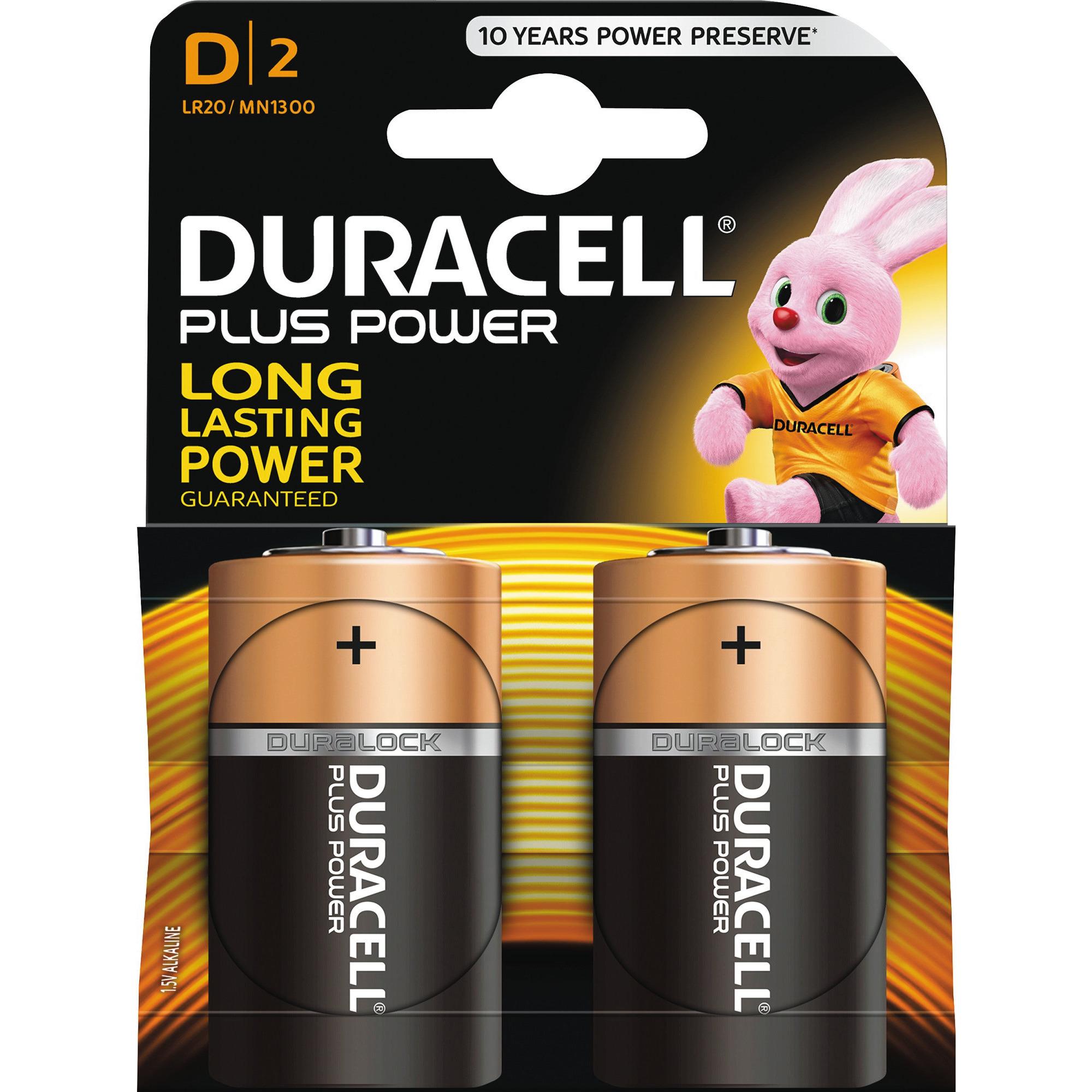 Duracell Plus Power MN1500 Alkaline AA 8 st Batterier