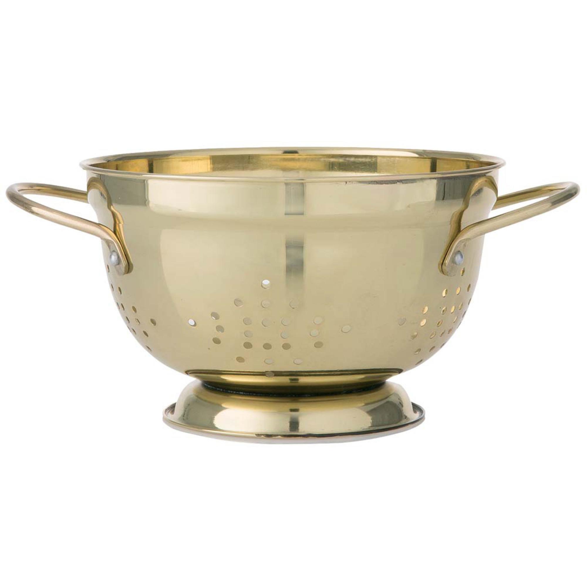 Funktion Durkslag Guld 22 cm