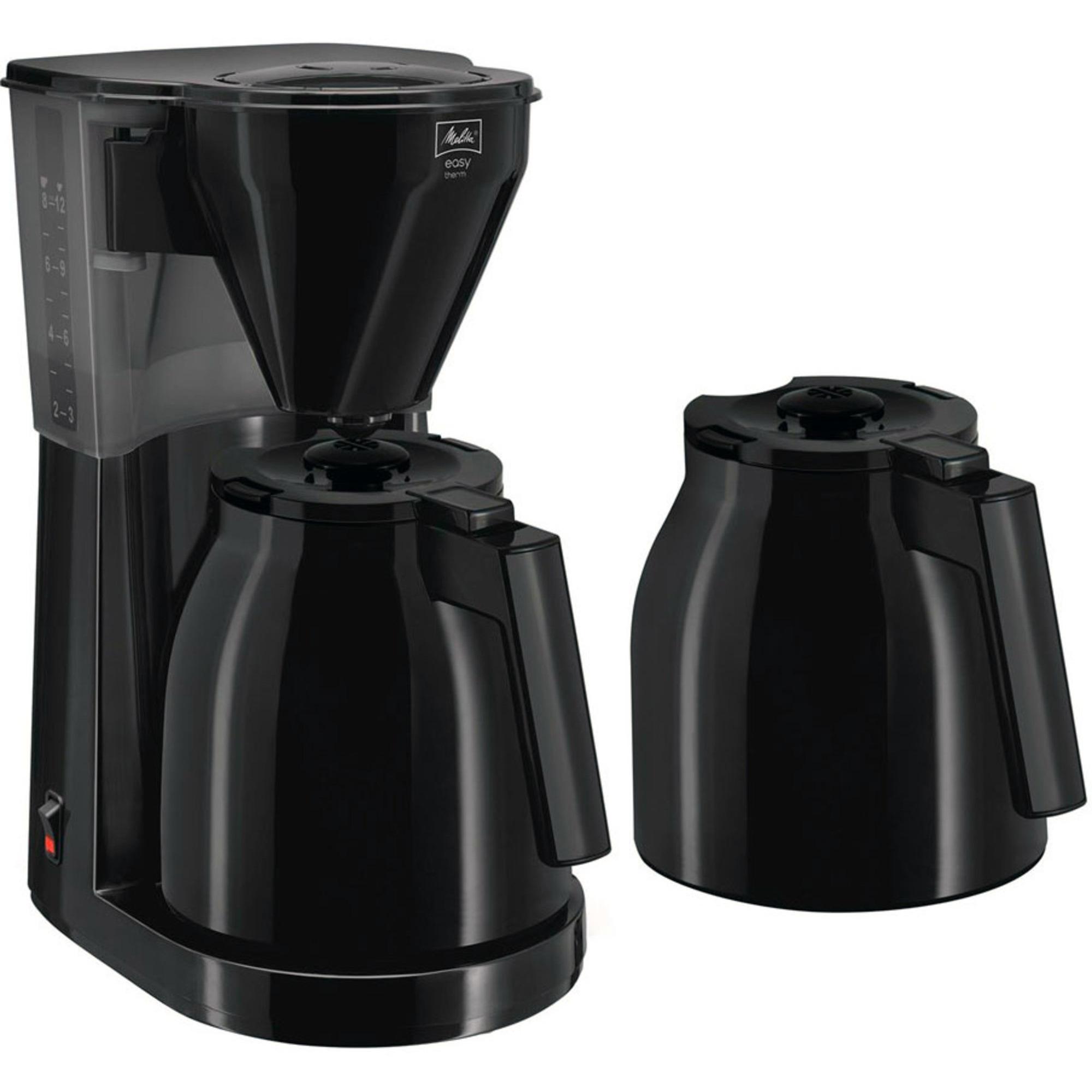 Melitta Easy Therm kaffemaskin m. två kannor