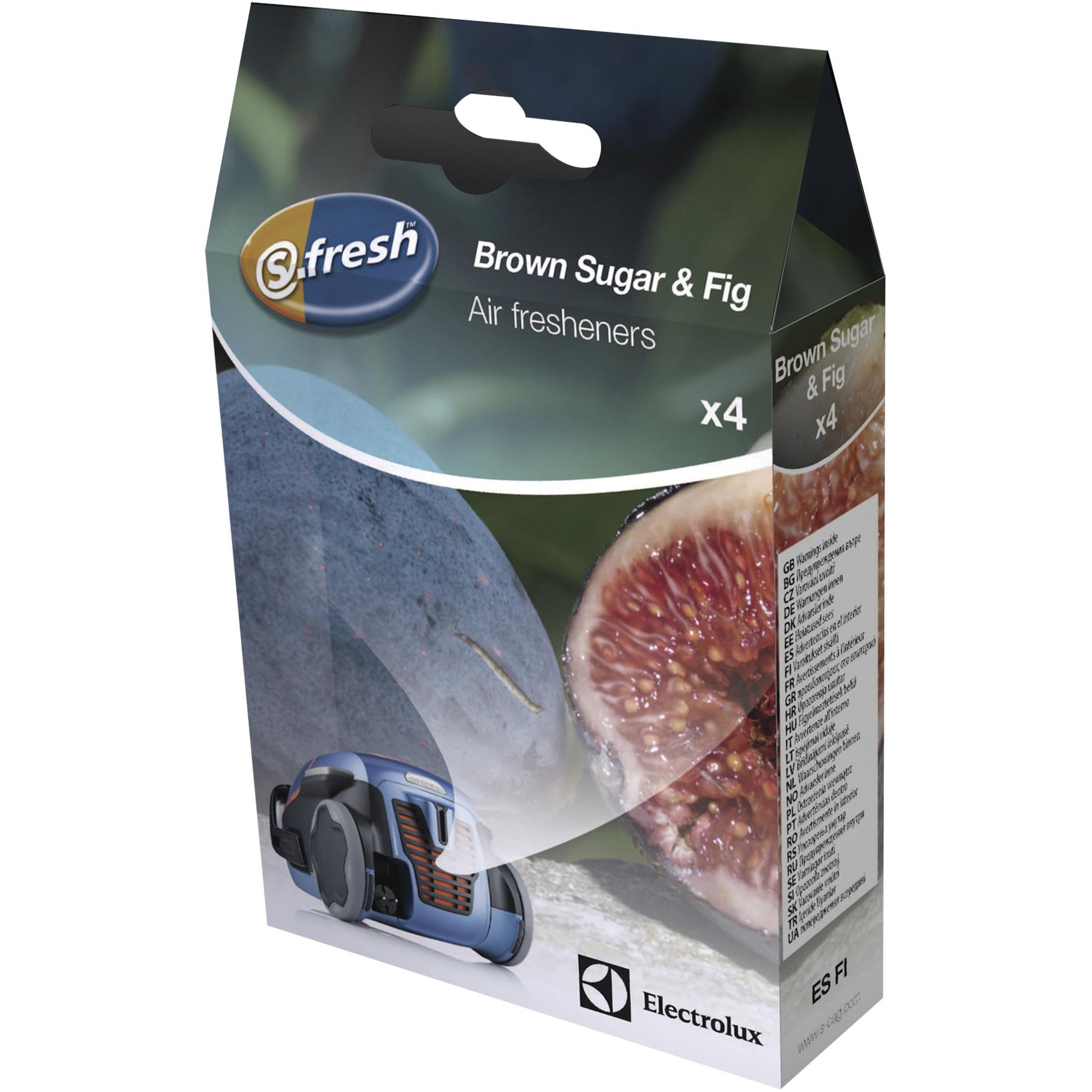 Electrolux S-fresh doftkulor till dammsugare – Brown sugar & Fig