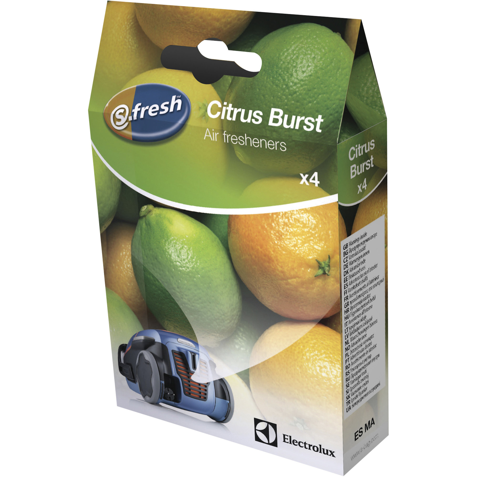 Electrolux S-fresh doftkulor till dammsugare – Citrus burst