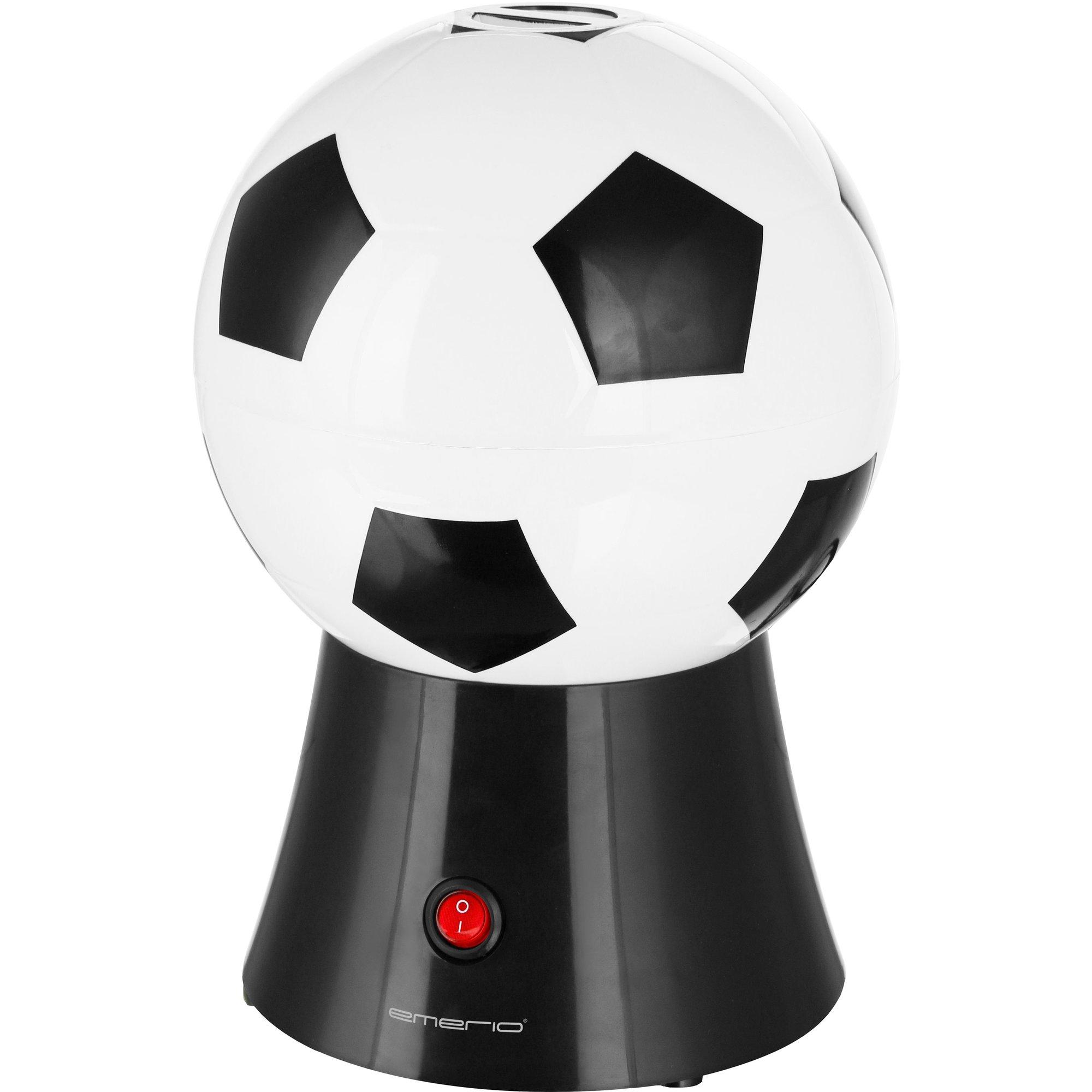 Emerio Popcornmaskin i fotbollsdesign