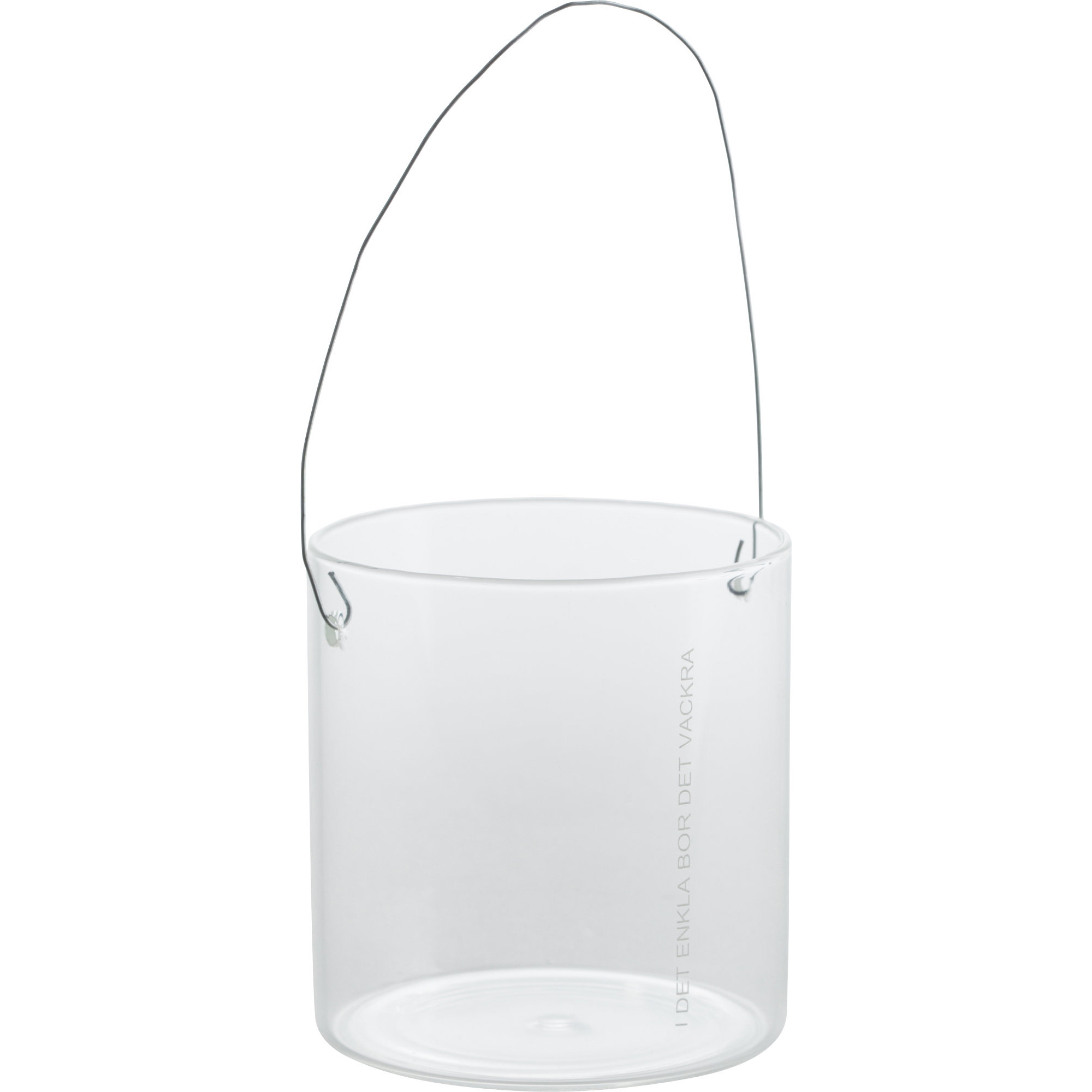 Ernst Hänglykta i Glas 8 cm