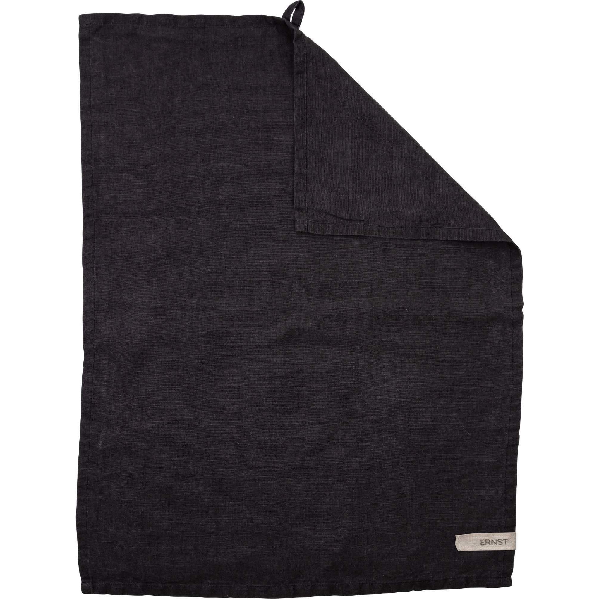Ernst Kökshandduk linne 47×70 mörkgrå