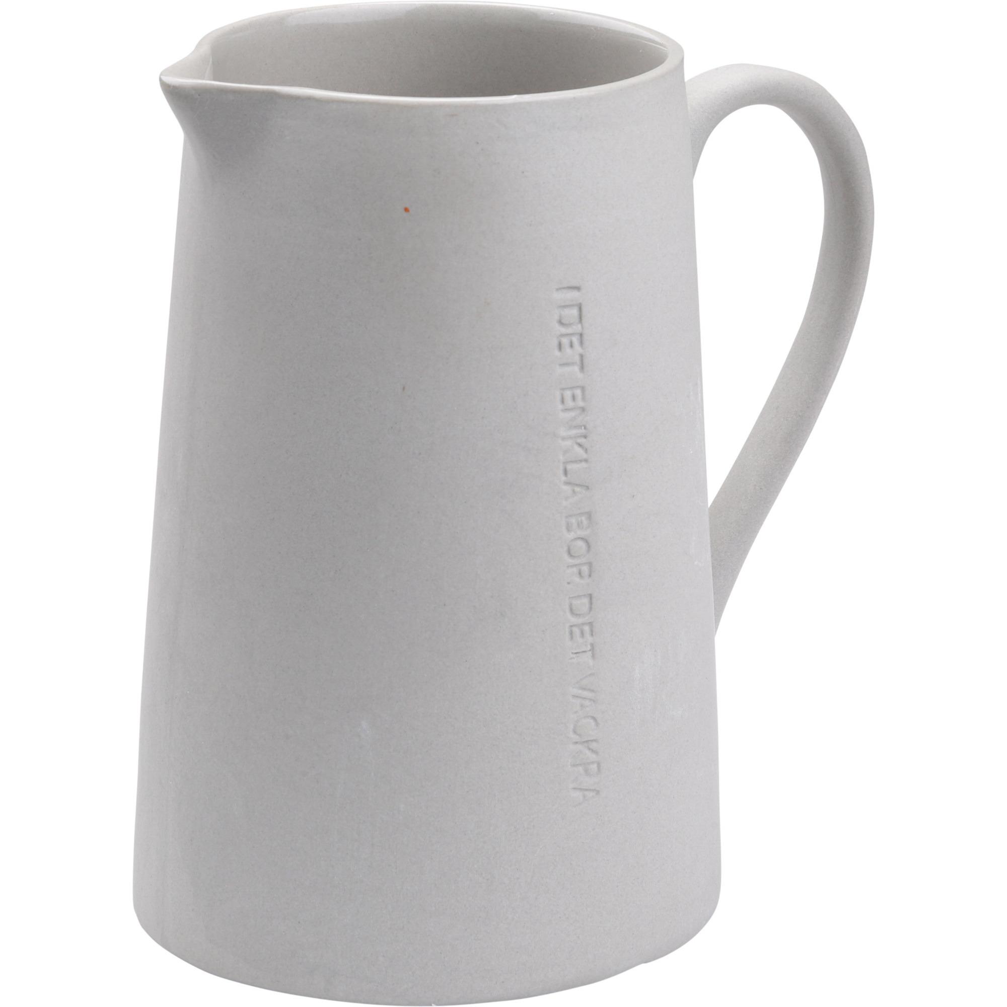 Ernst Mjölkkanna I det enkla Grå