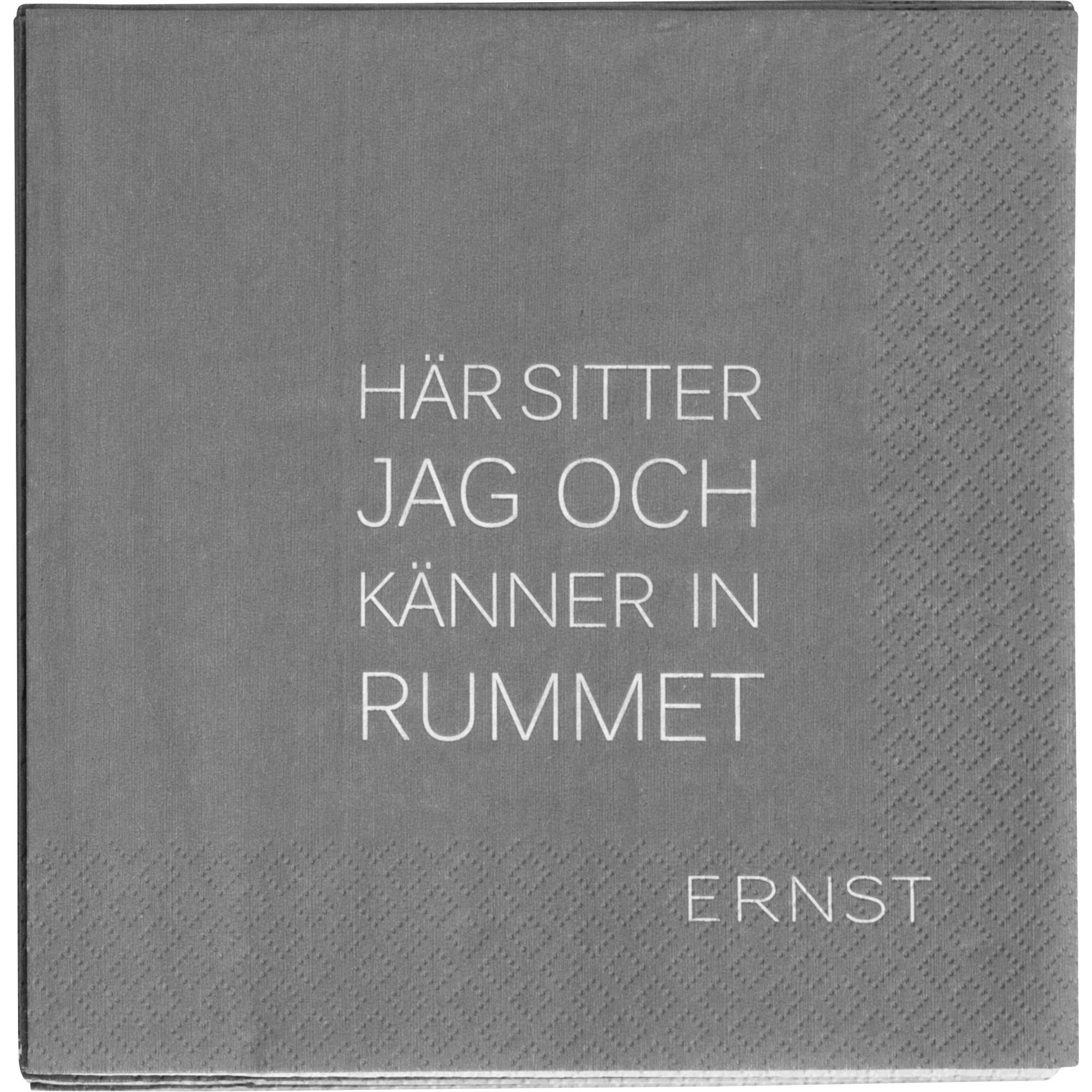 Ernst Servett Tid/Rum Grå
