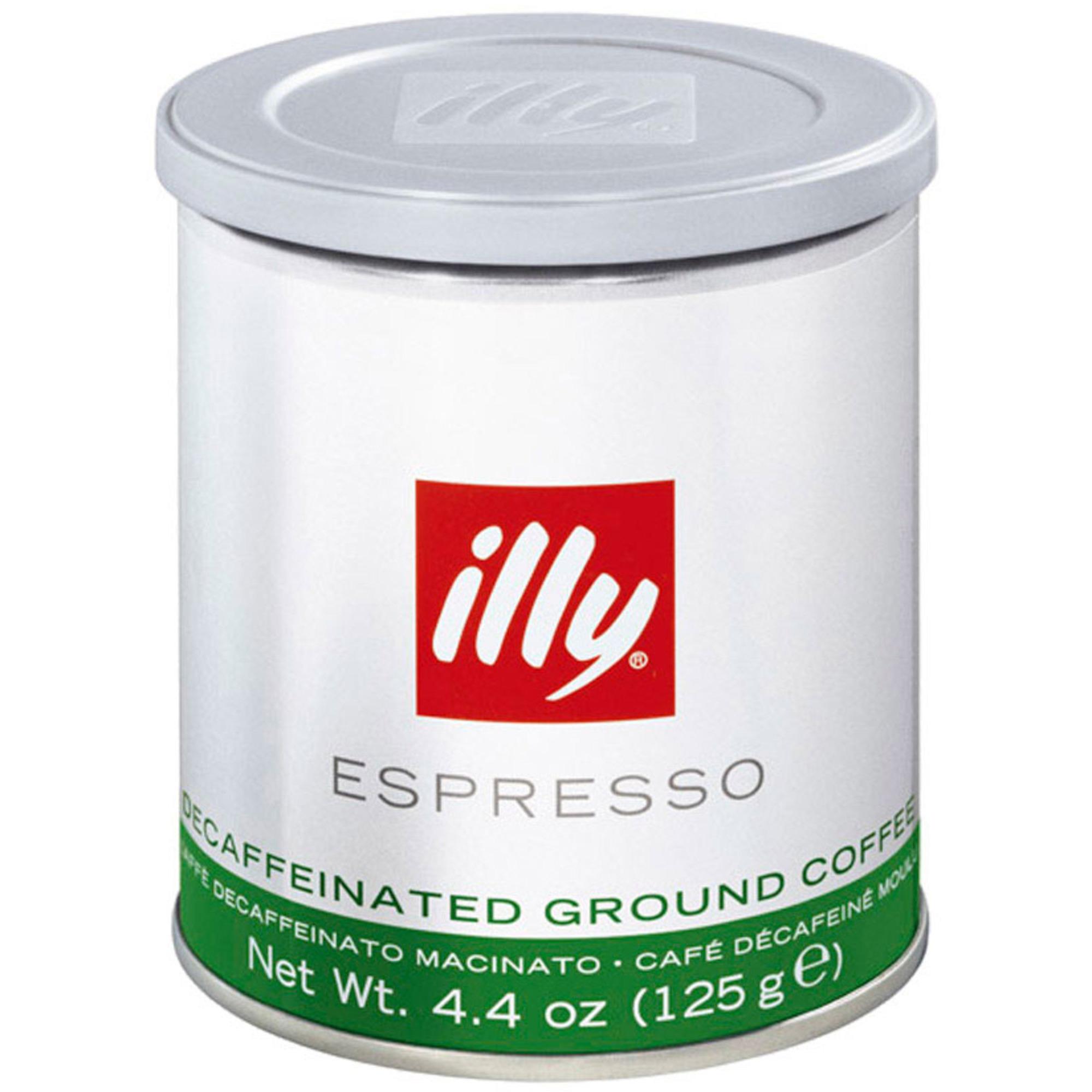 Illy Espresso Malet Koffeinfritt 125g