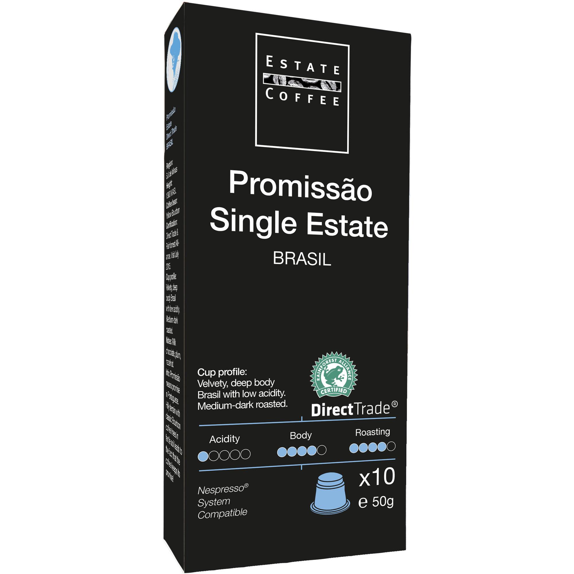 Estate Coffee Promissao Single Kaffekapslar