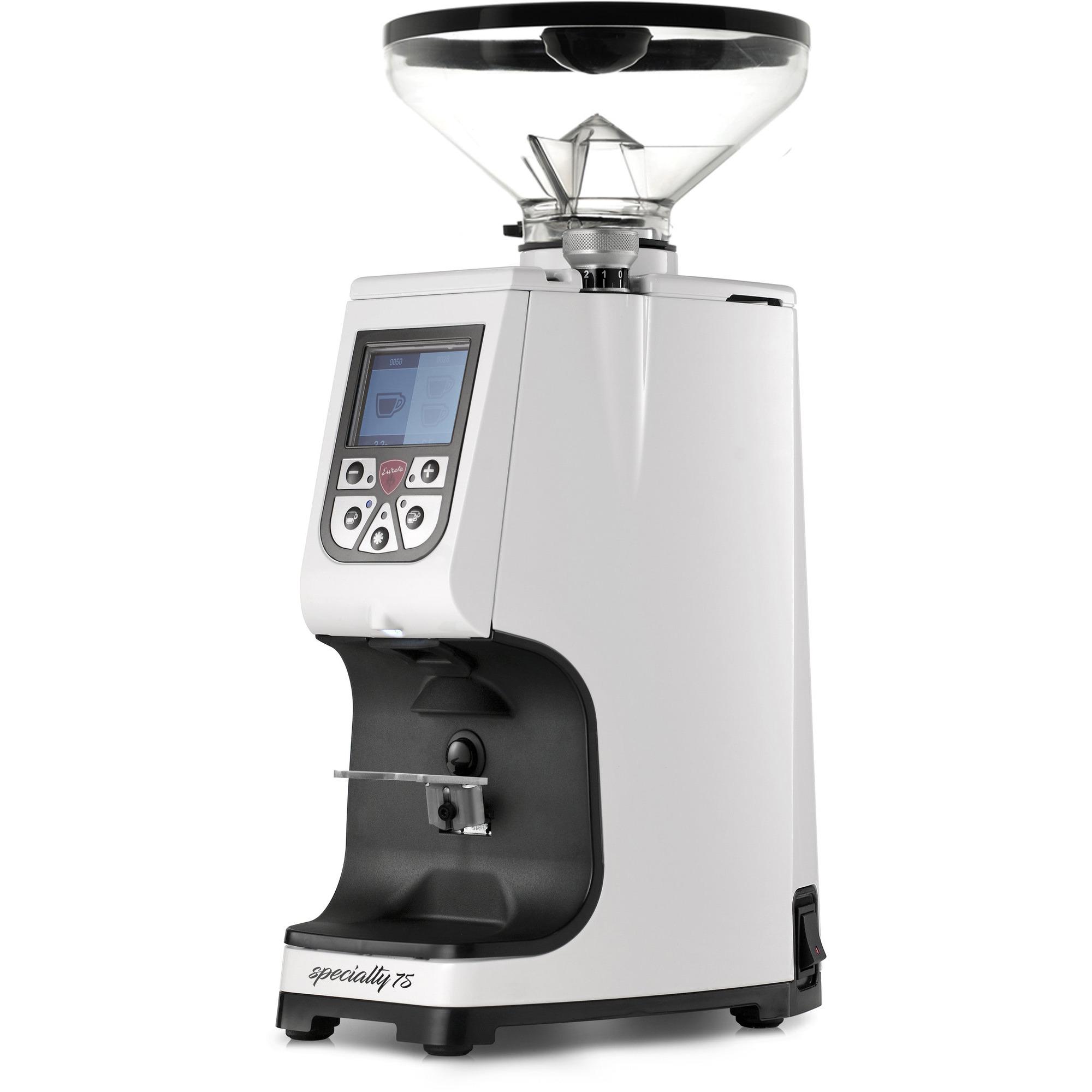 Eureka ATOM Specialty 75 elektrisk kaffekvarn Vit