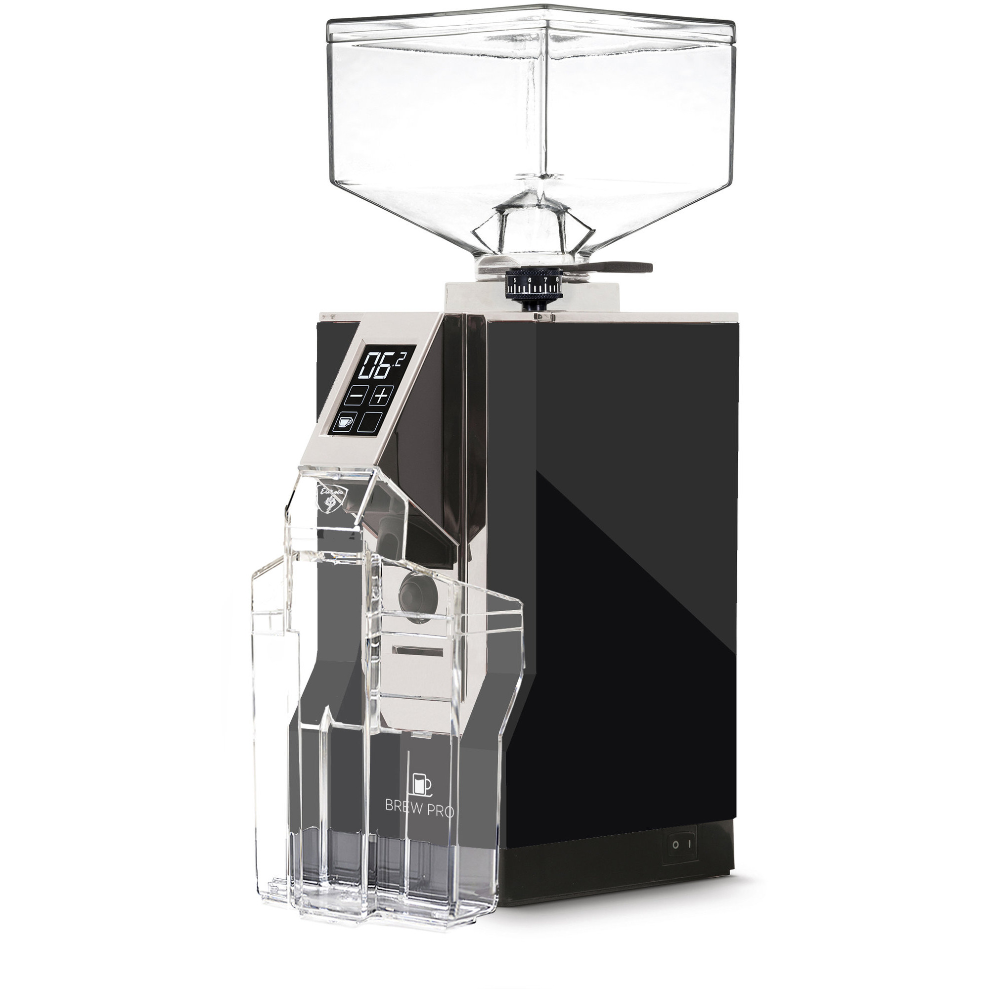 Eureka MIGNON Brew Pro Elektrisk Kaffekvarn Svart