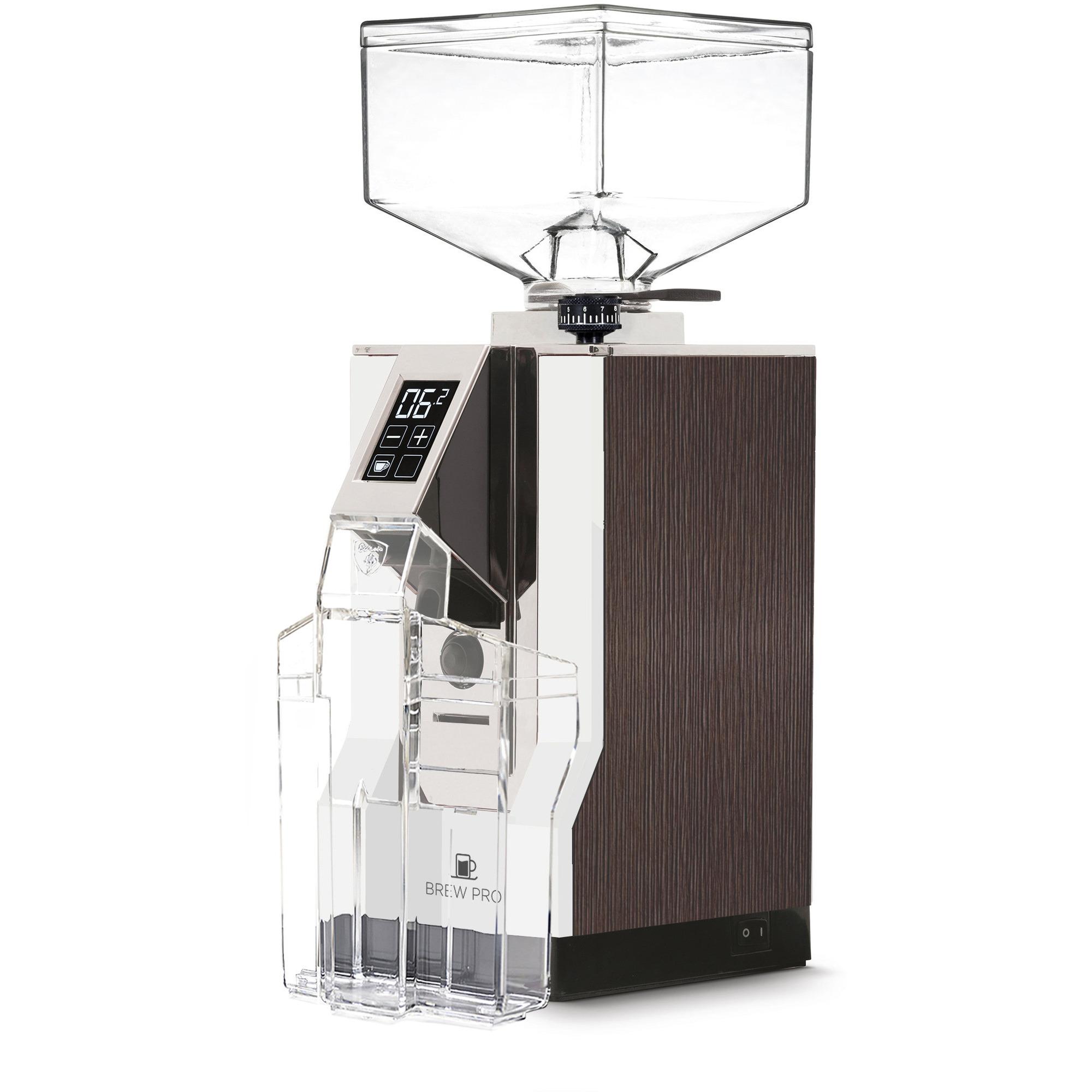 Eureka MIGNON Brew Pro Elektrisk Kaffekvarn Förkromat stål
