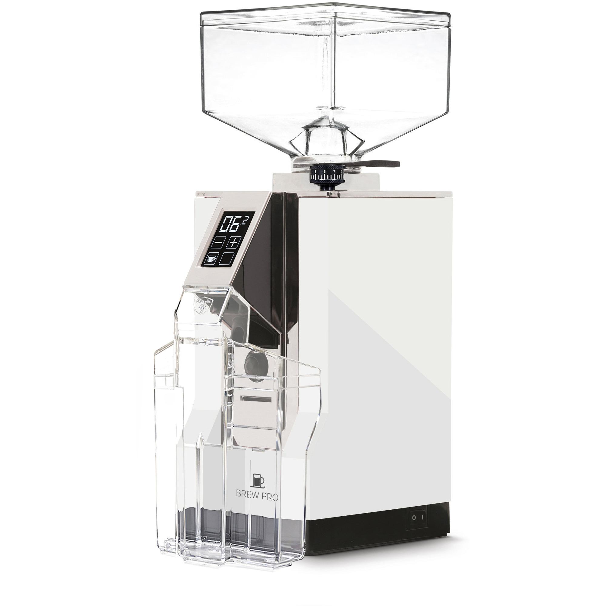 Eureka MIGNON Brew Pro Elektrisk Kaffekvarn Vit